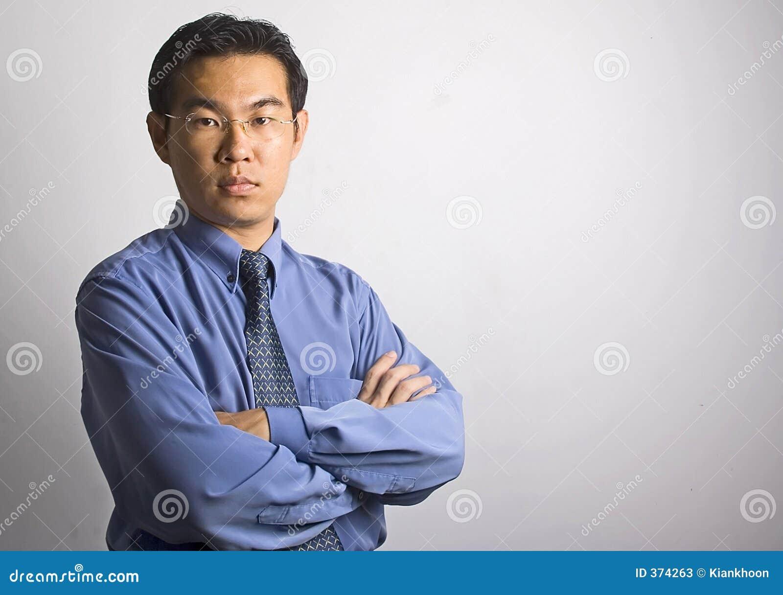 Aziatische Zakenman