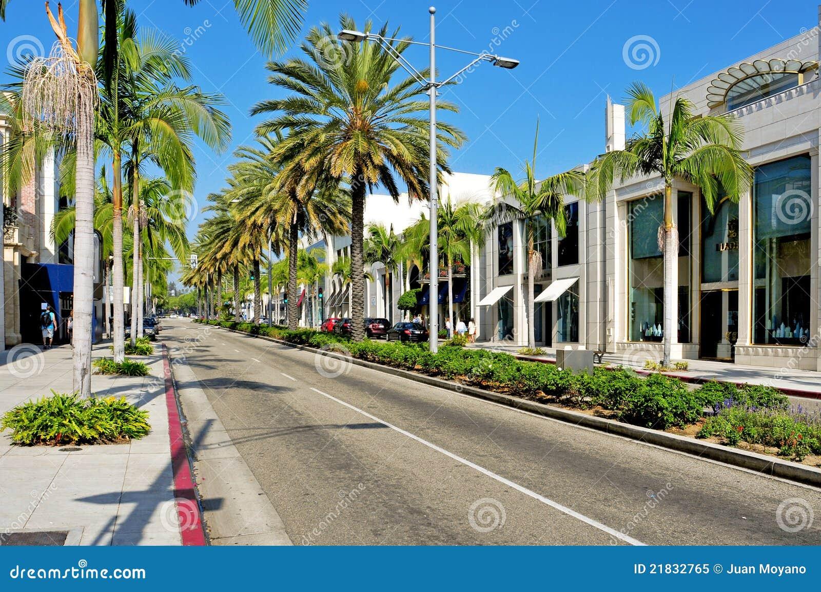 Azionamento del rodeo, Beverly Hills, Stati Uniti
