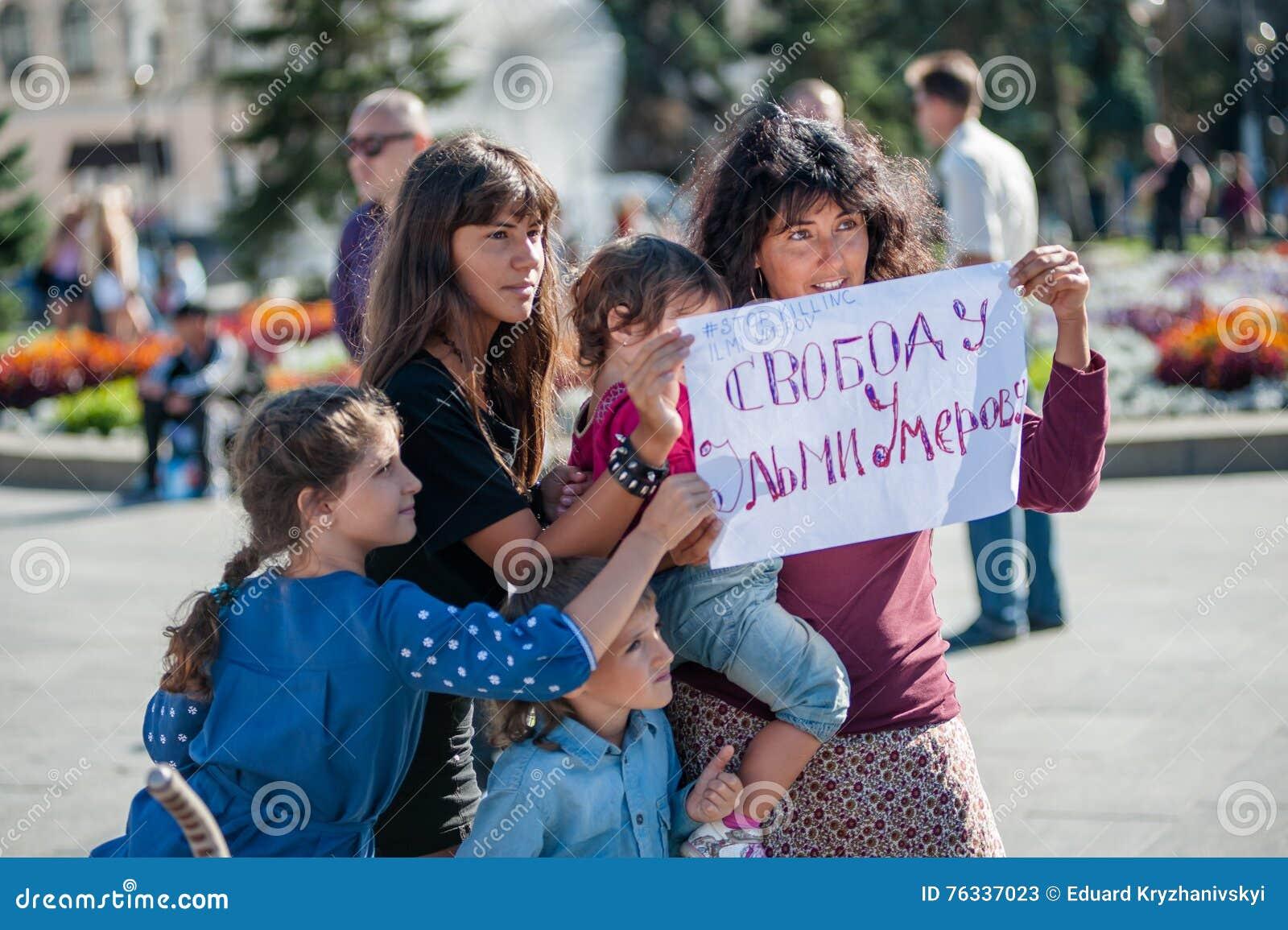 Azione nel supporto Ilmi Umerov