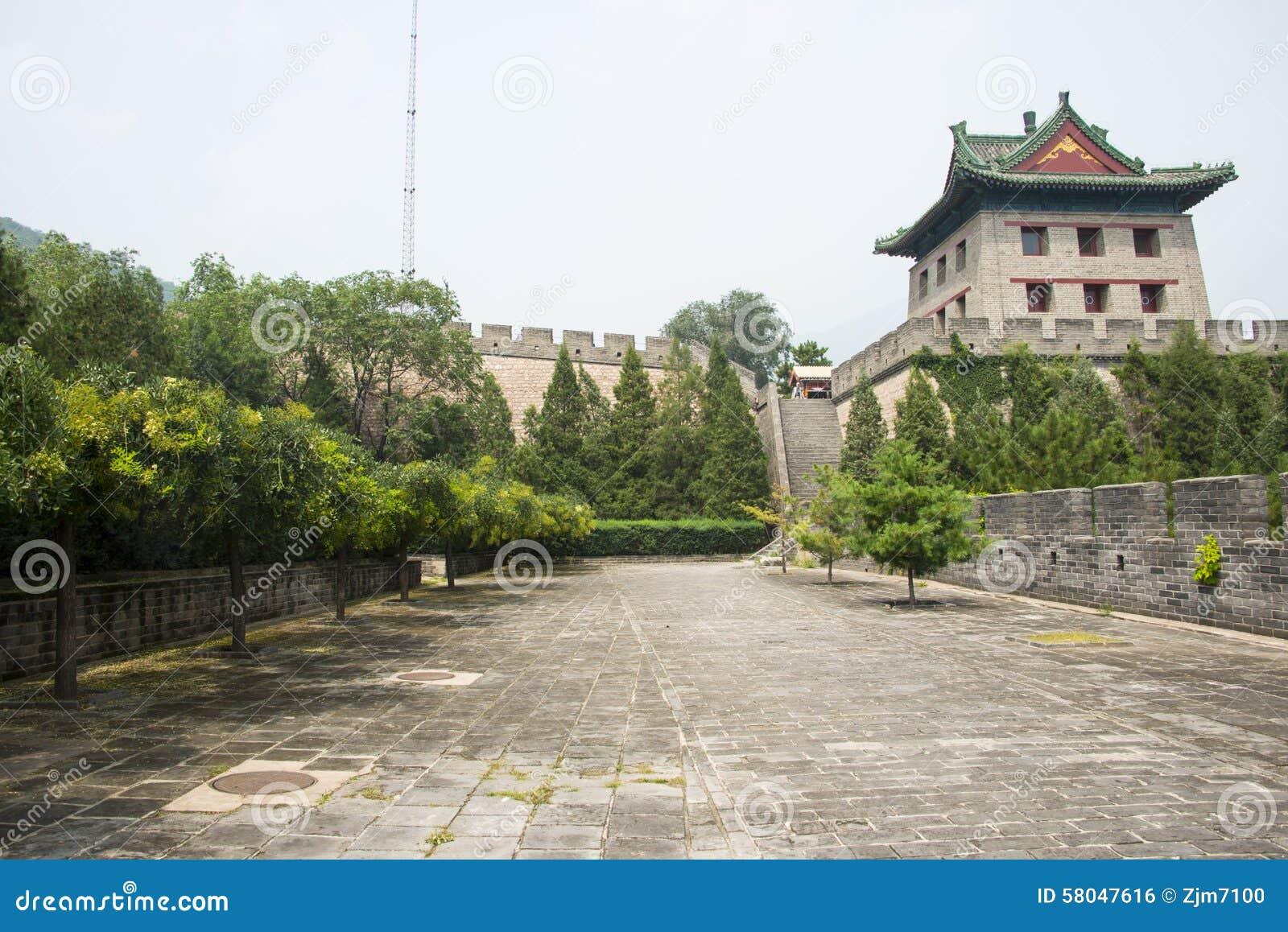 Azja Chiny, Pekin wielki mur Juyongguan, architectureï ¼ ŒSouth bramy wierza