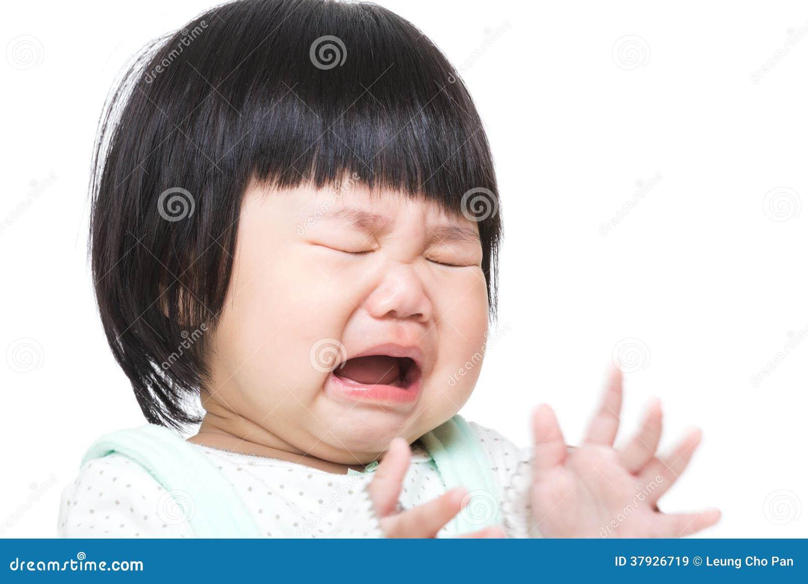 Azja dziewczynki płacz