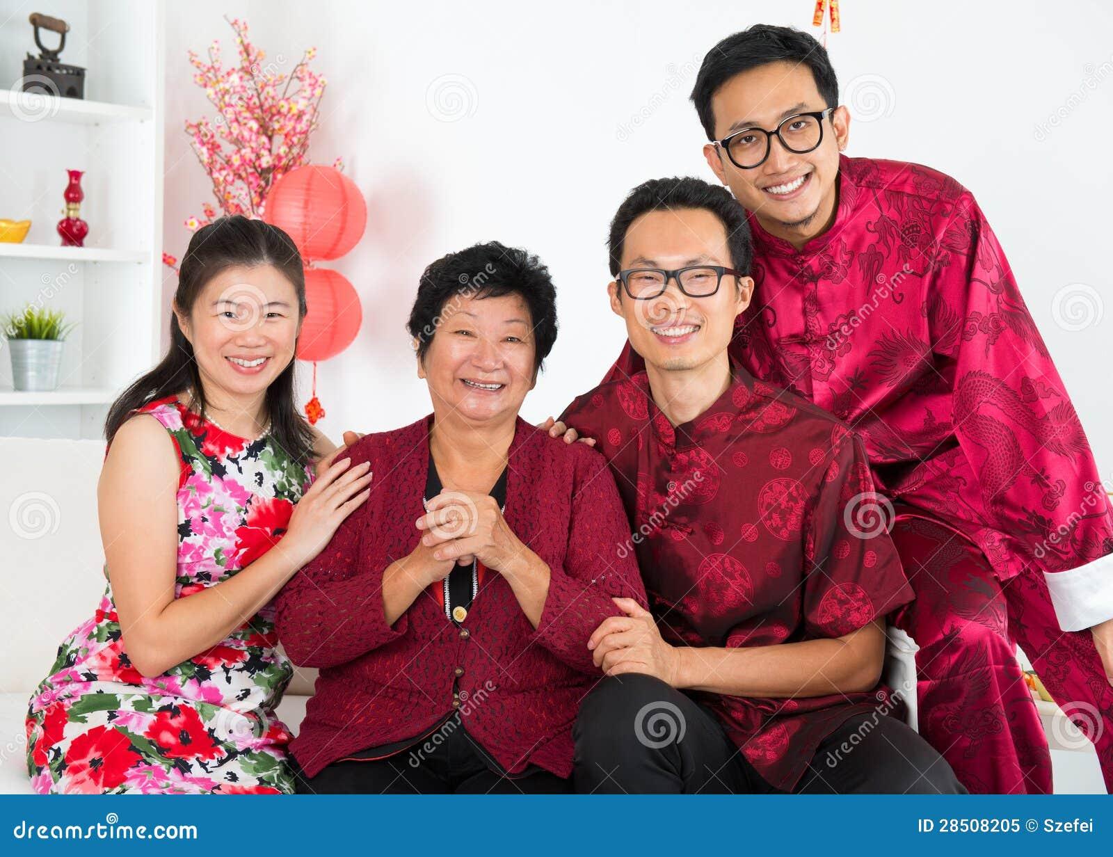 Azjatycki zjazd rodzinny.