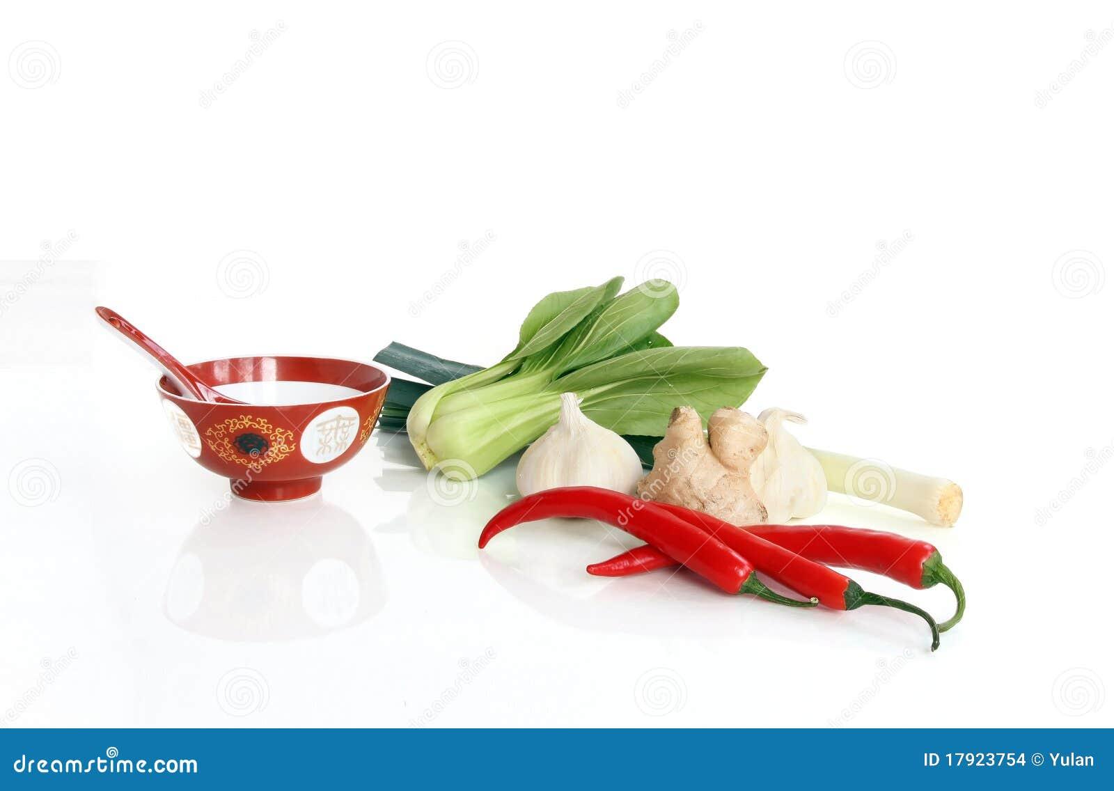 Azjatykci kulinarni składniki