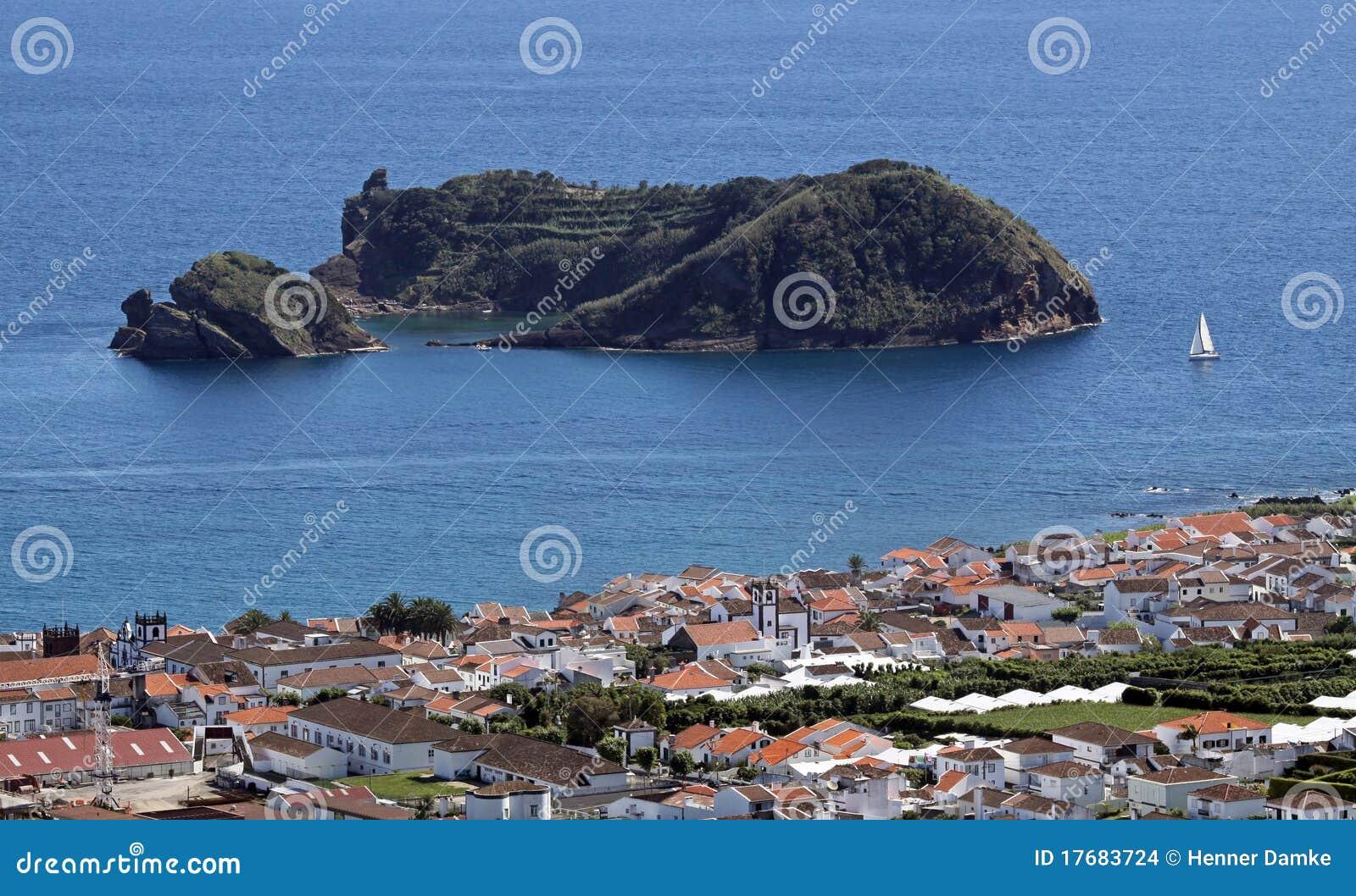 Azores De Franca illheu wyspa Vila