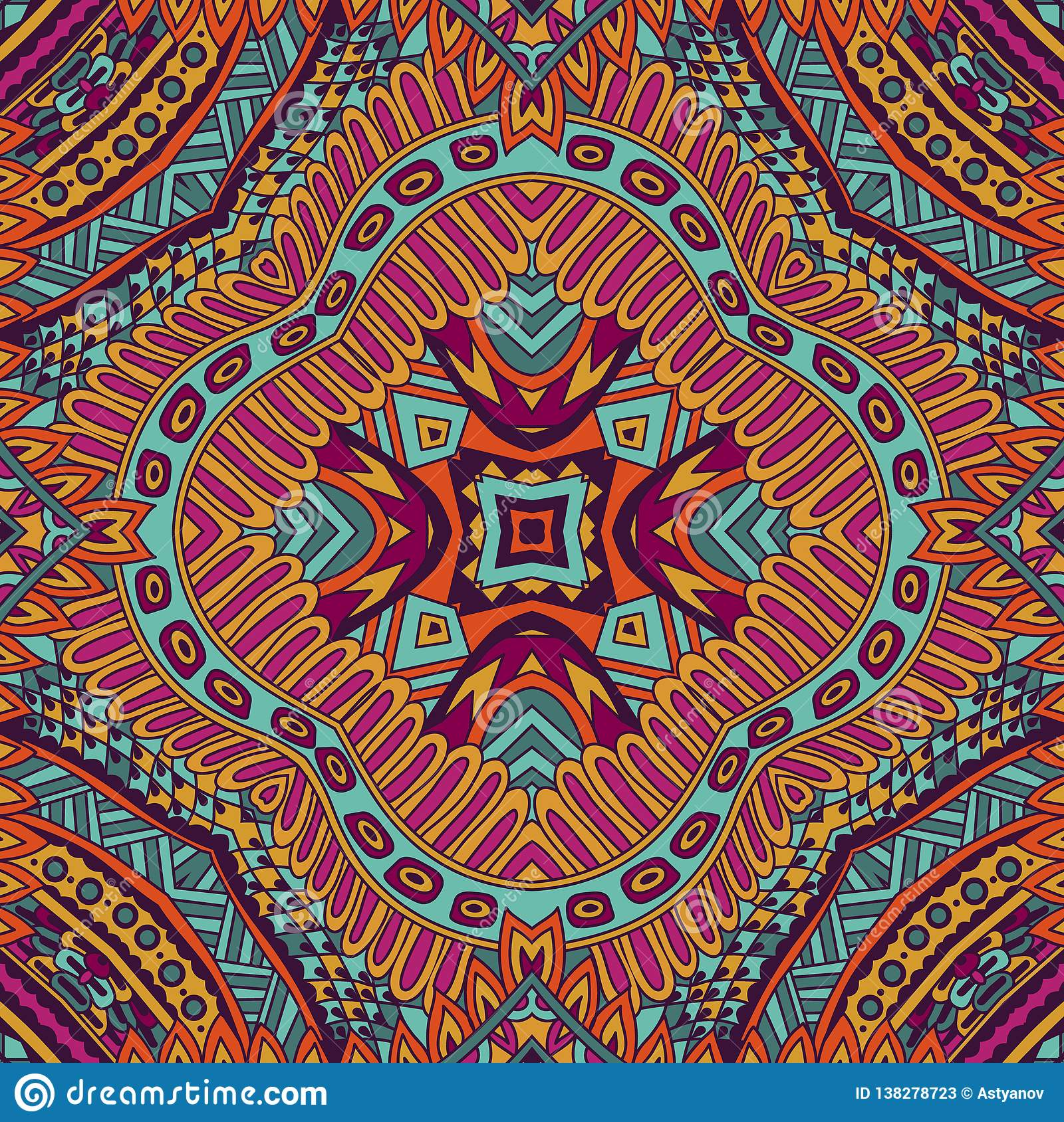 516c12c14b8af Aztec Fancy Abstract Geometric Art Print Thnic Hipster Backdrop ...