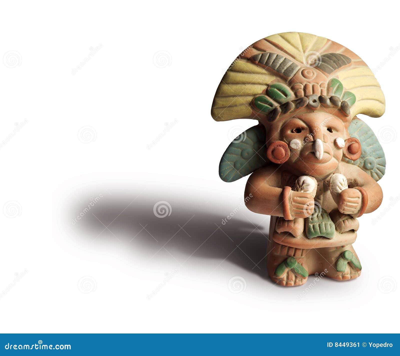 Aztec figuerine
