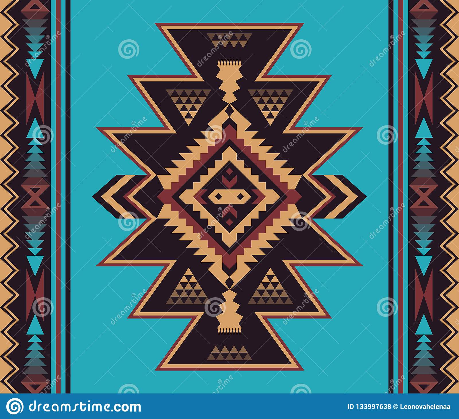 picture regarding Native American Designs Printable identify Indigenous Southwest American, Indian, Aztec, Navajo Seamless