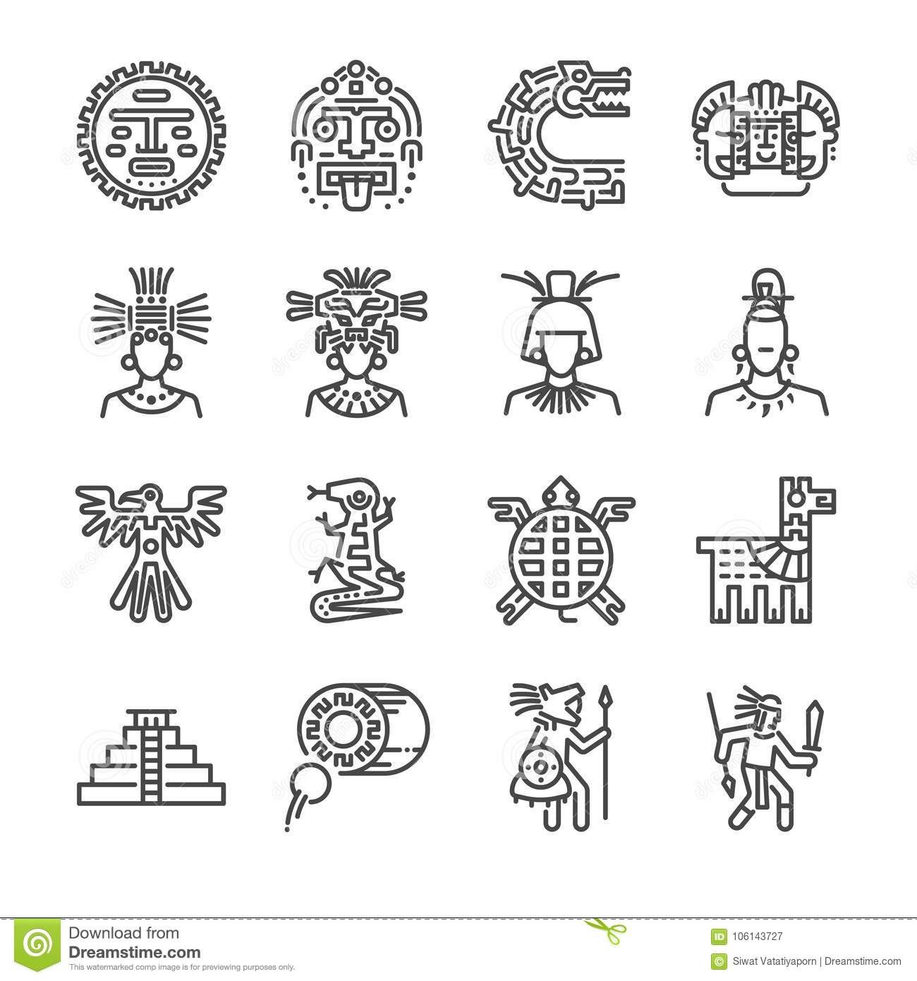 c6e8436ed Mayan Warrior Stock Illustrations – 392 Mayan Warrior Stock Illustrations,  Vectors & Clipart - Dreamstime