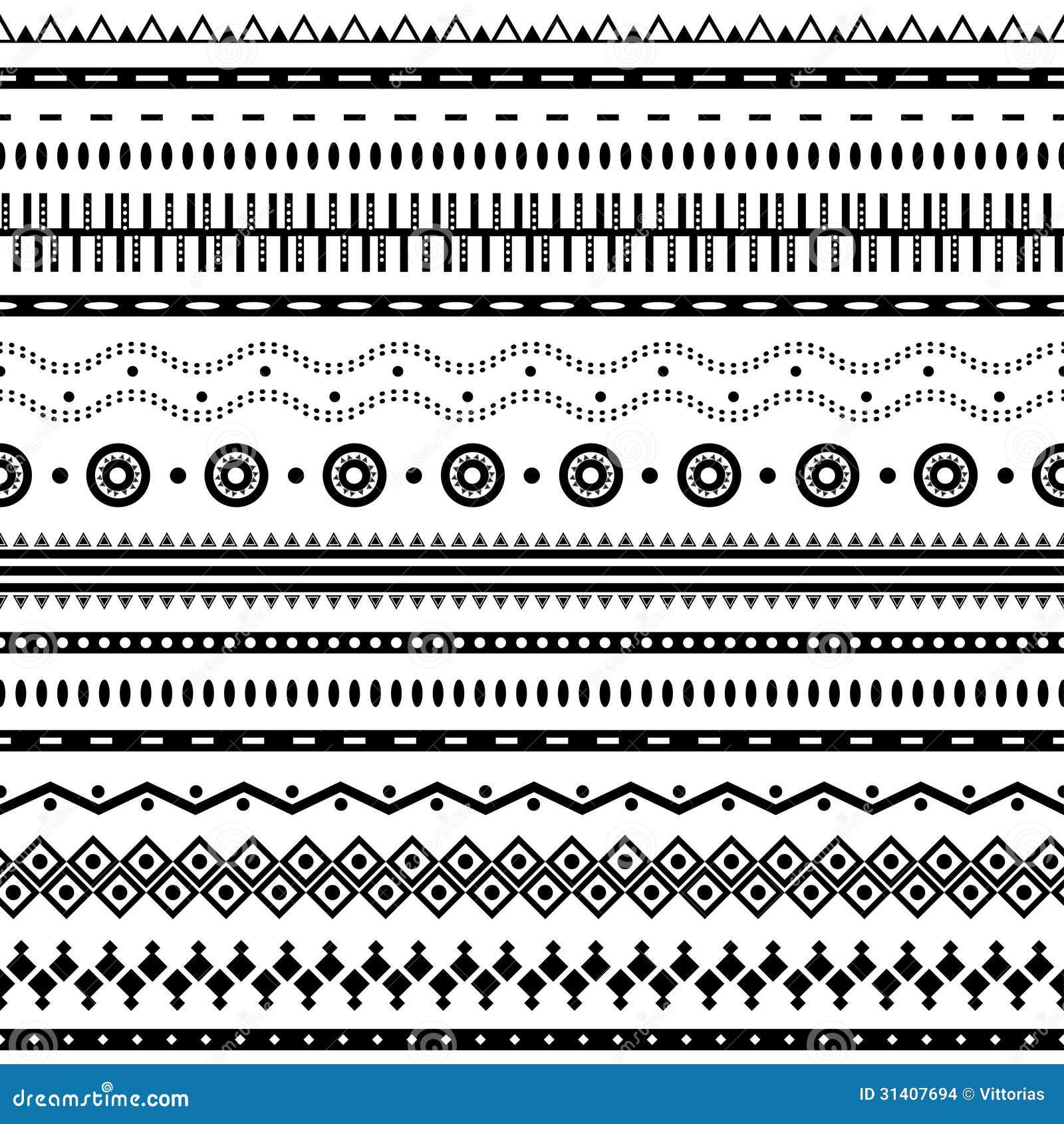 Aztec seamless pattern...