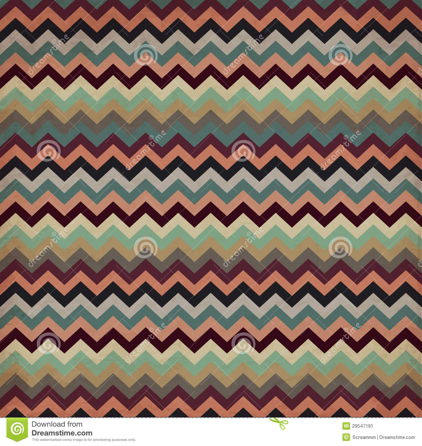 aztec stripe pattern in pastel tints stock vector image