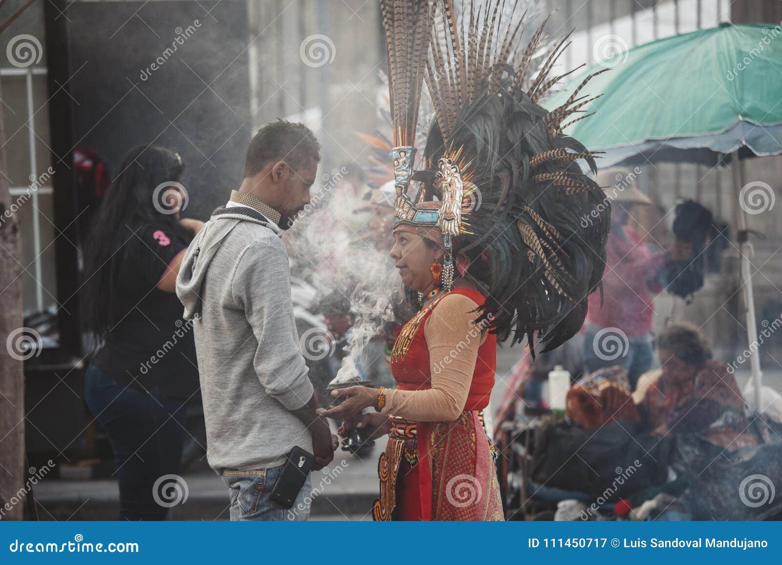 Azteekse Medicijnman, Mexico-City