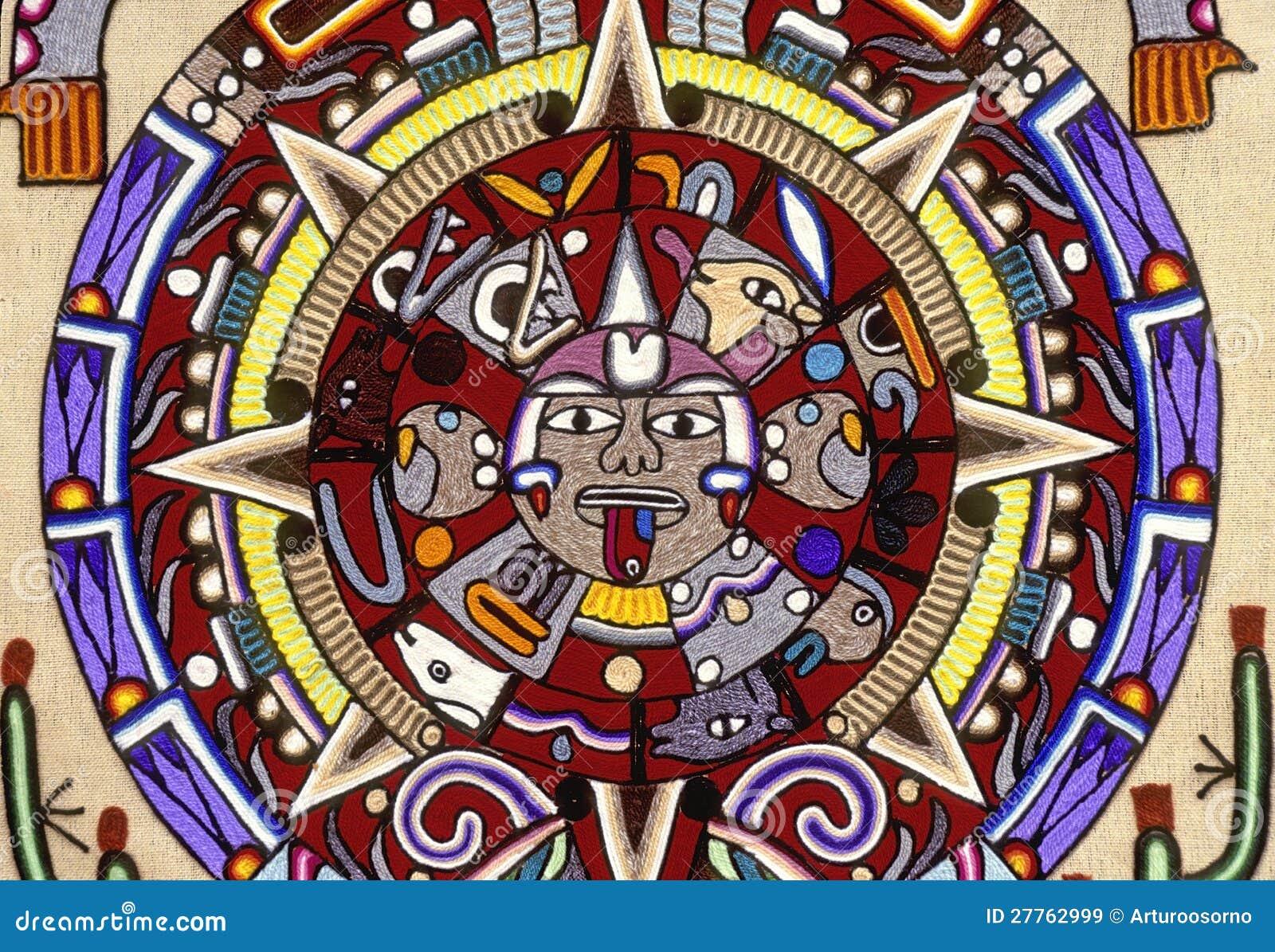 Azteka kalendarz