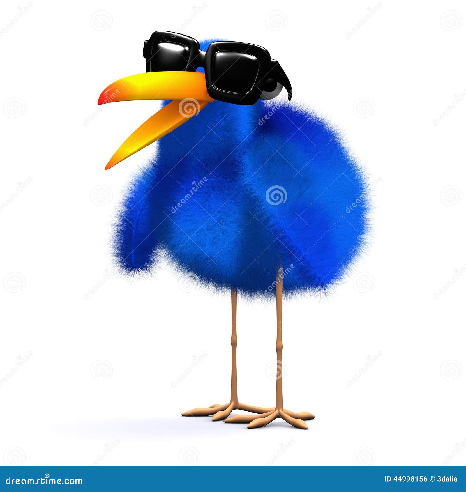 Azulão-americano 3d Nos óculos De Sol Ilustração Stock - Ilustração ... 8d78f4808d