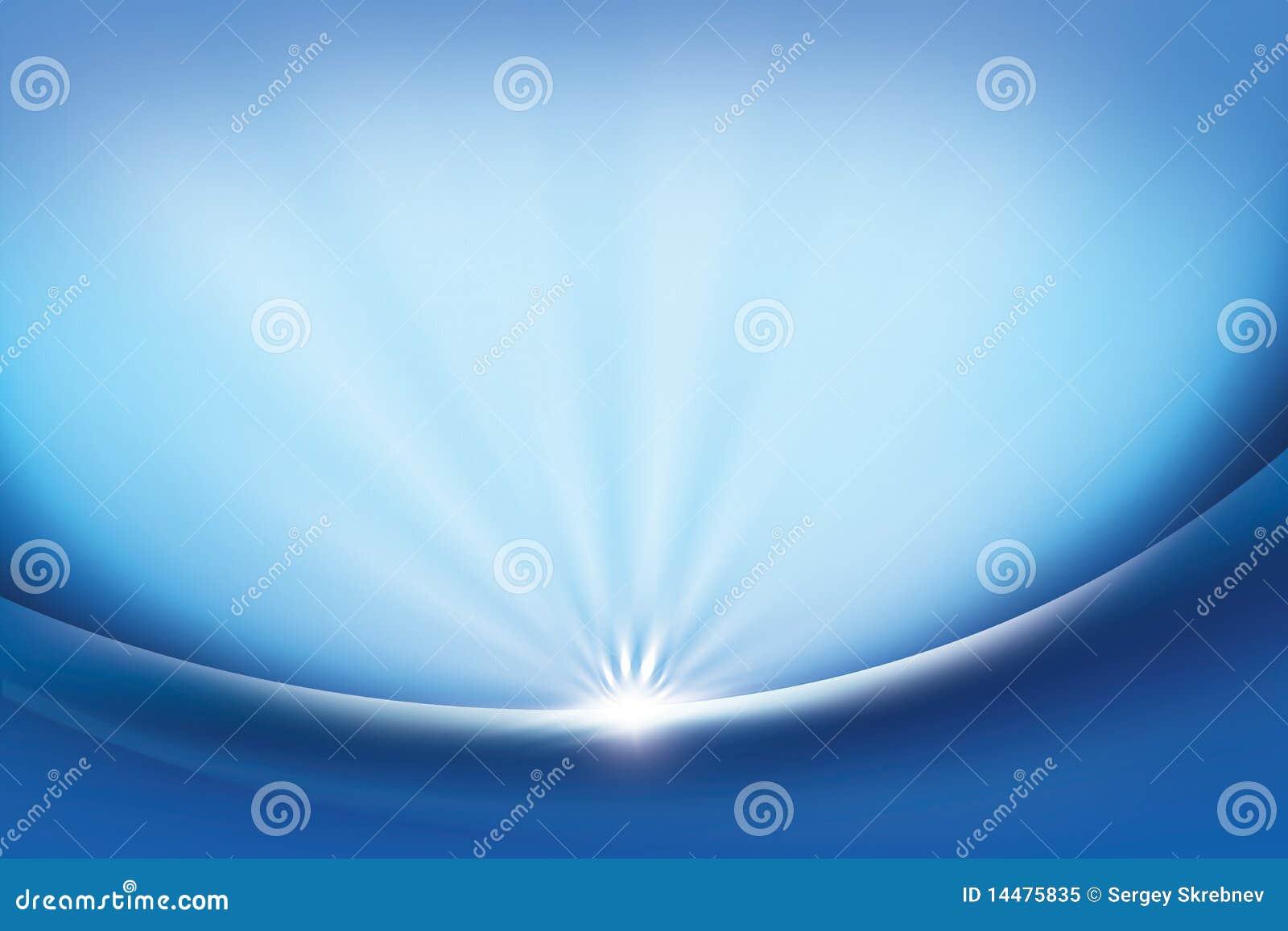 Azul abstracto del fondo