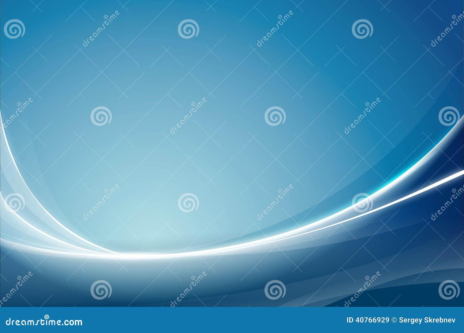 Azul abstrato do fundo