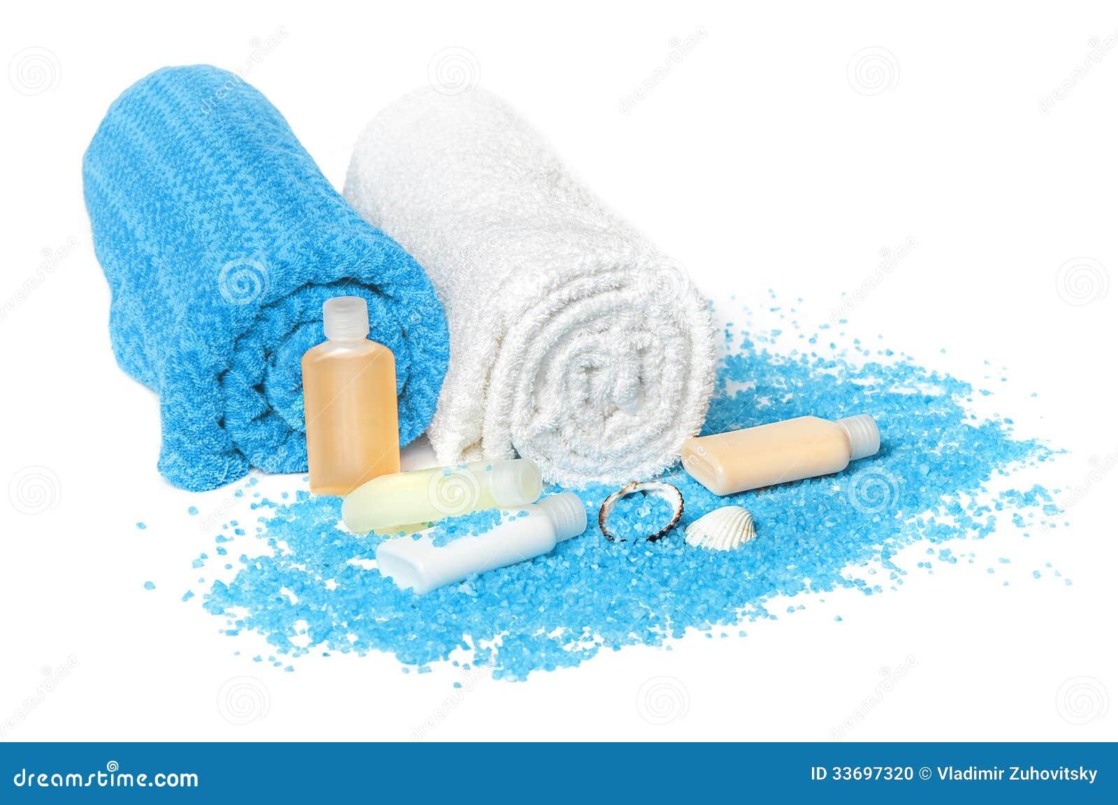 Azul de la sal del mar muerto
