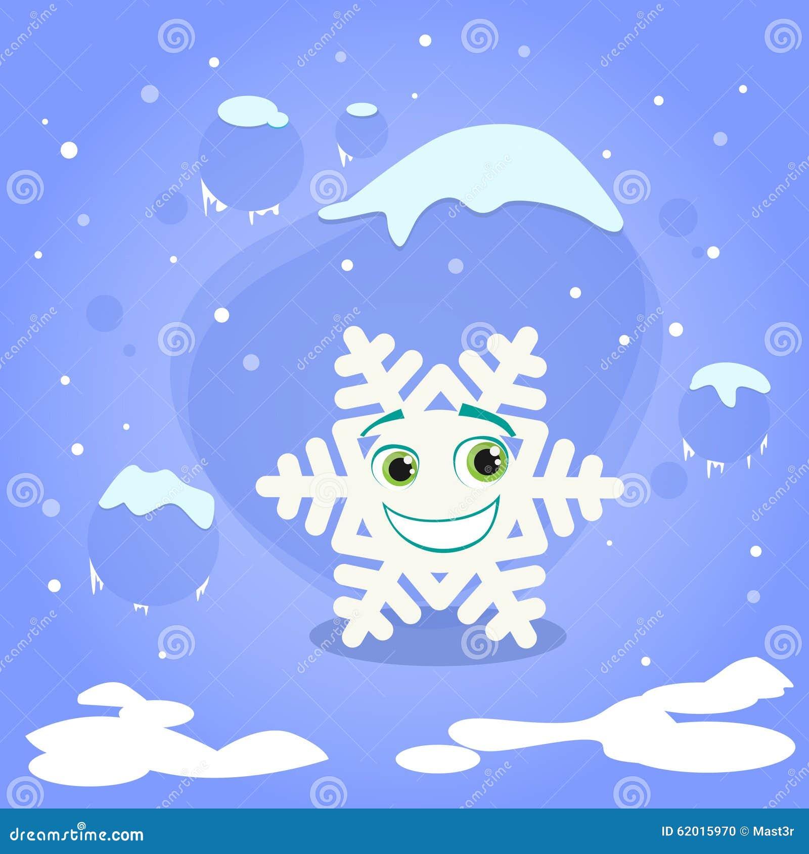 Azul Del Concepto De La Navidad Del Personaje De Dibujos