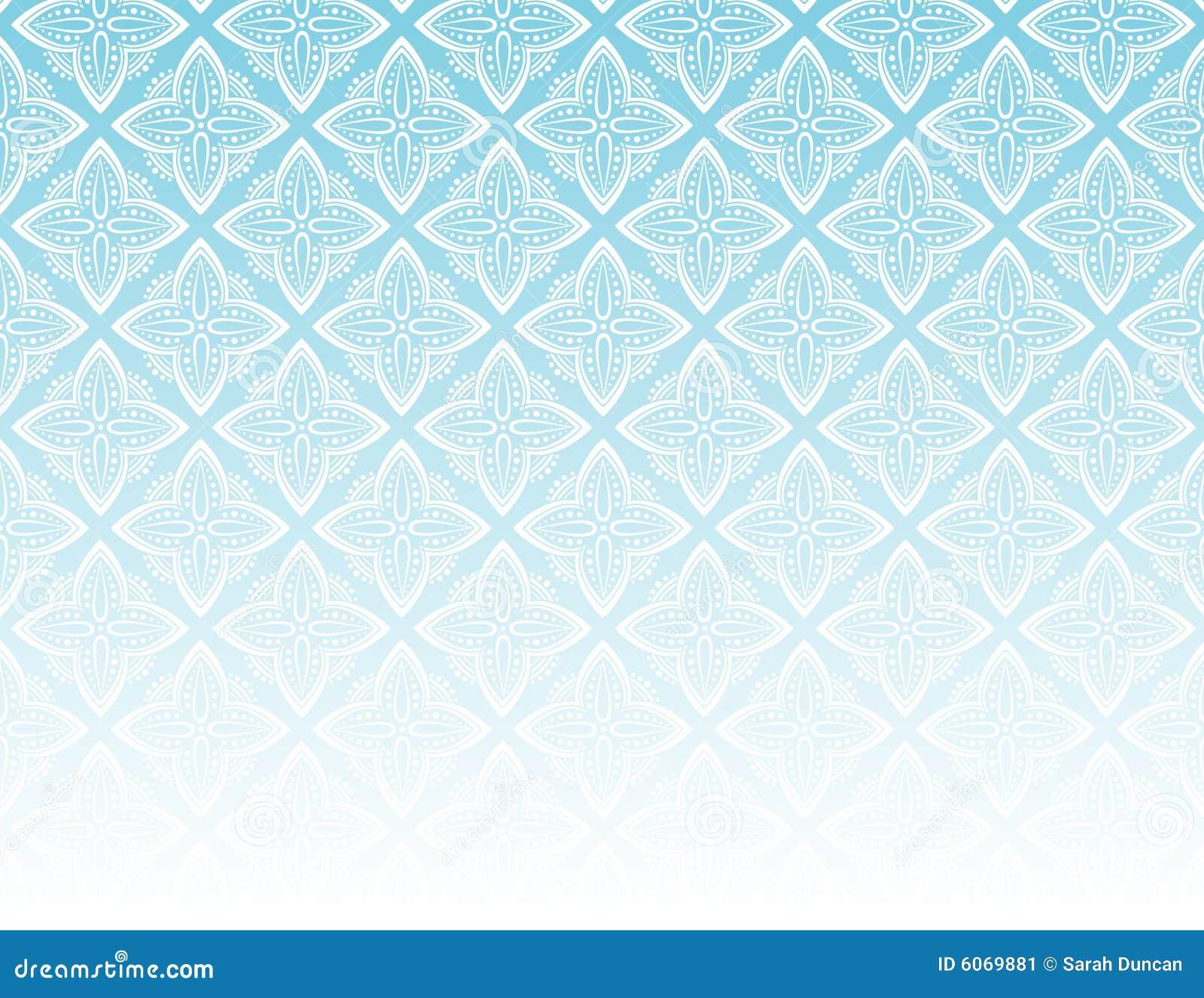 Azul ornamental del modelo