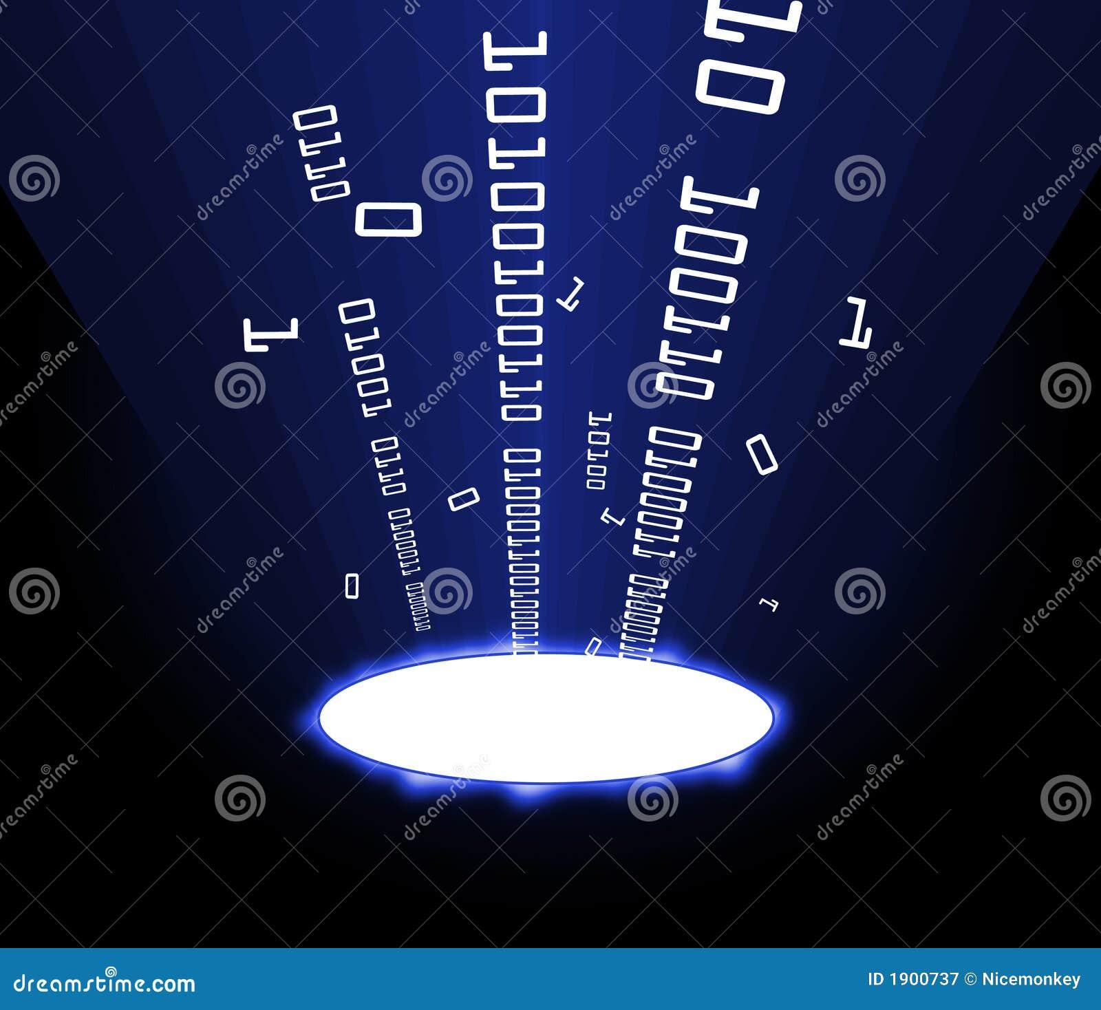 Azul porta de la información
