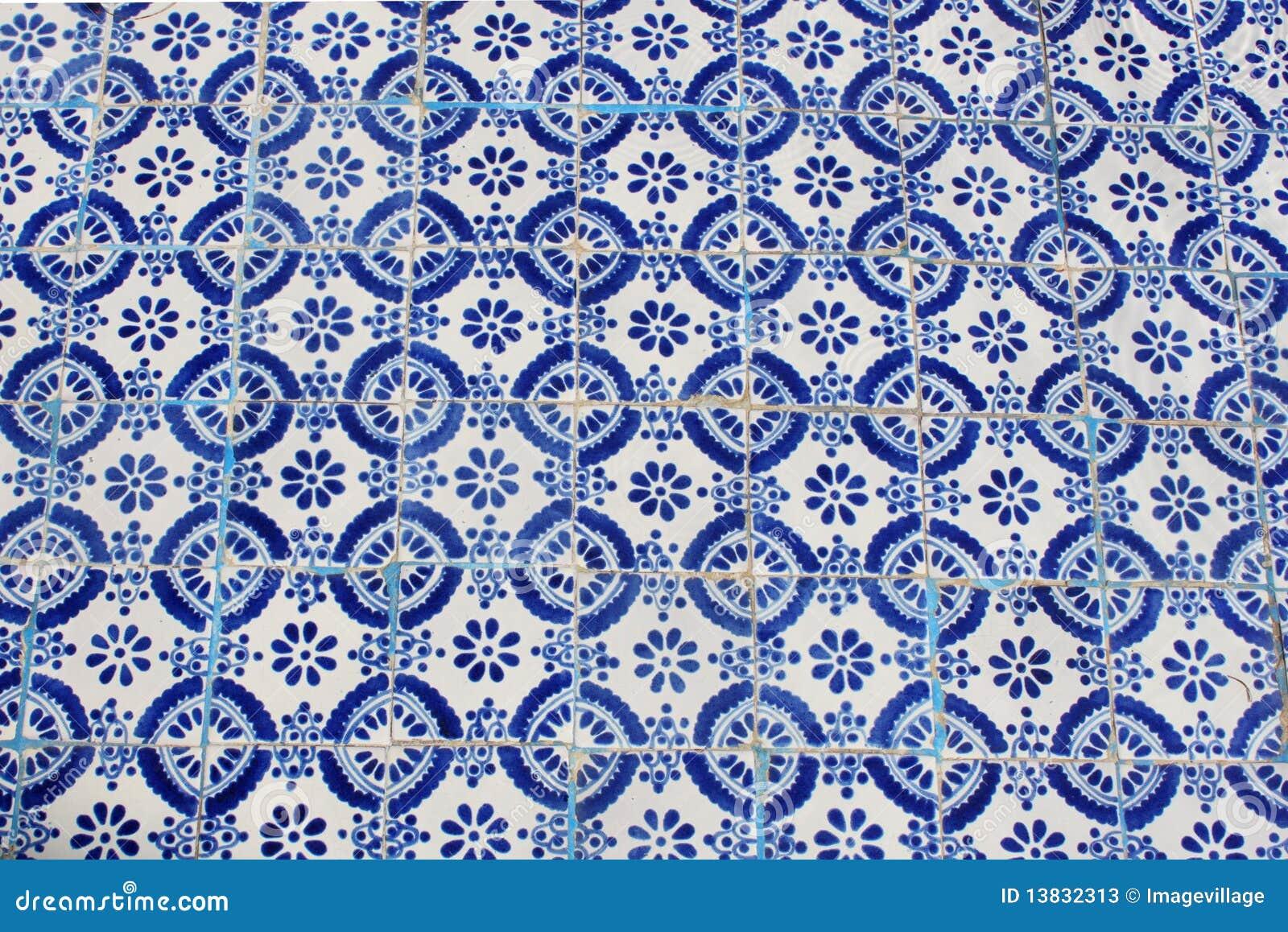 Azulejo azul fotos de archivo imagen 13832313 for Azulejo azul