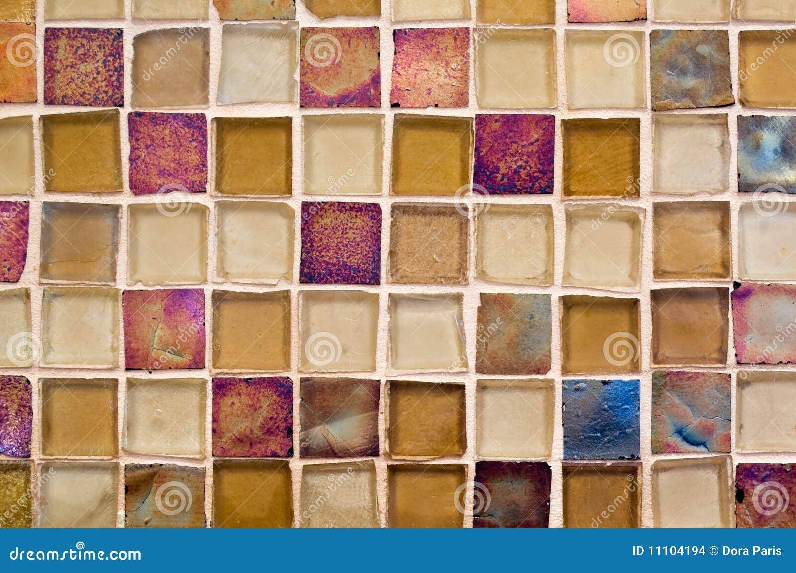 Azulejo de mosaico de cristal imagenes de archivo imagen for Azulejo mosaico
