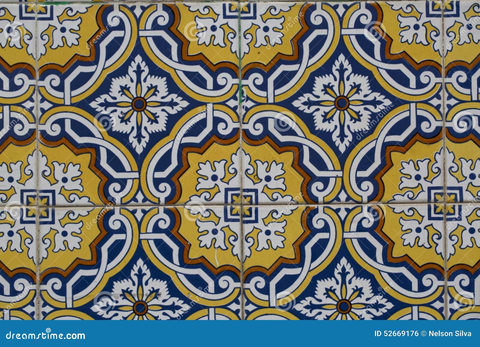Azulejos hexagonales vintage