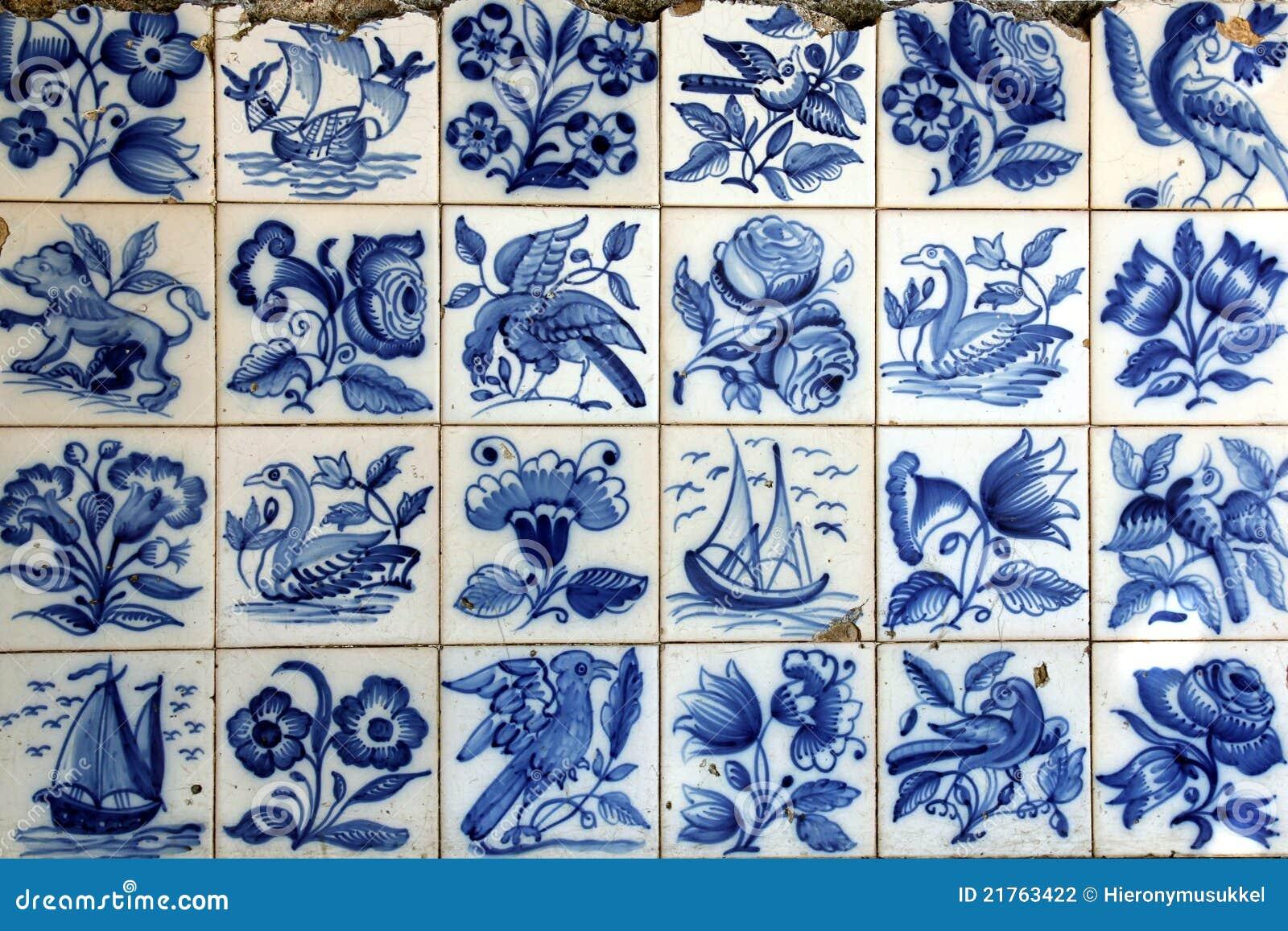 Azulejo in lisbon stock photo image of background blue for Azulejos de portugal