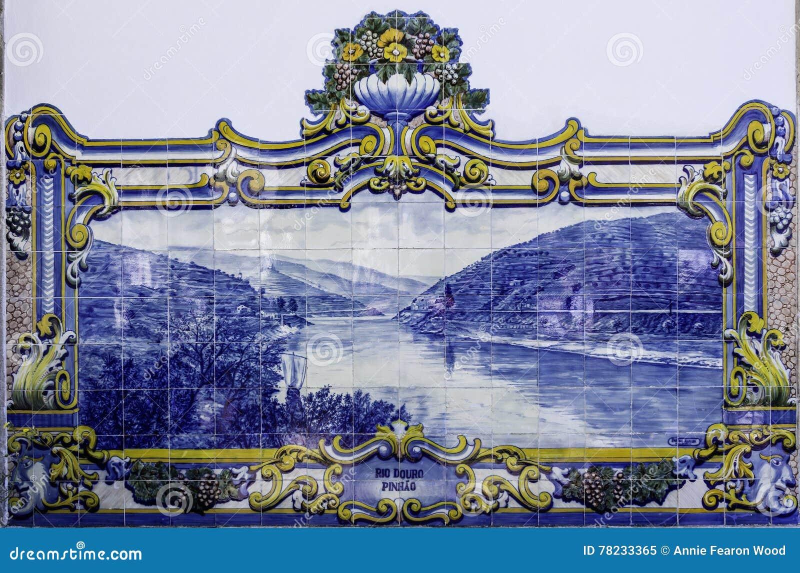Azulejo płytki, Portugalia