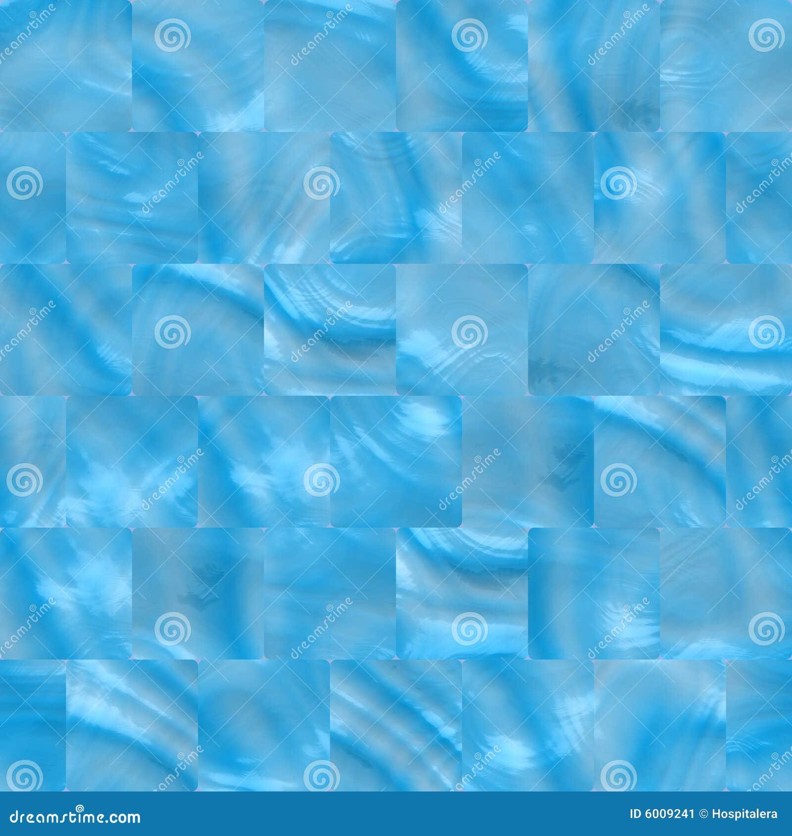 Azulejos azules claros del sl imagen de archivo imagen - Banos con azulejos azules ...