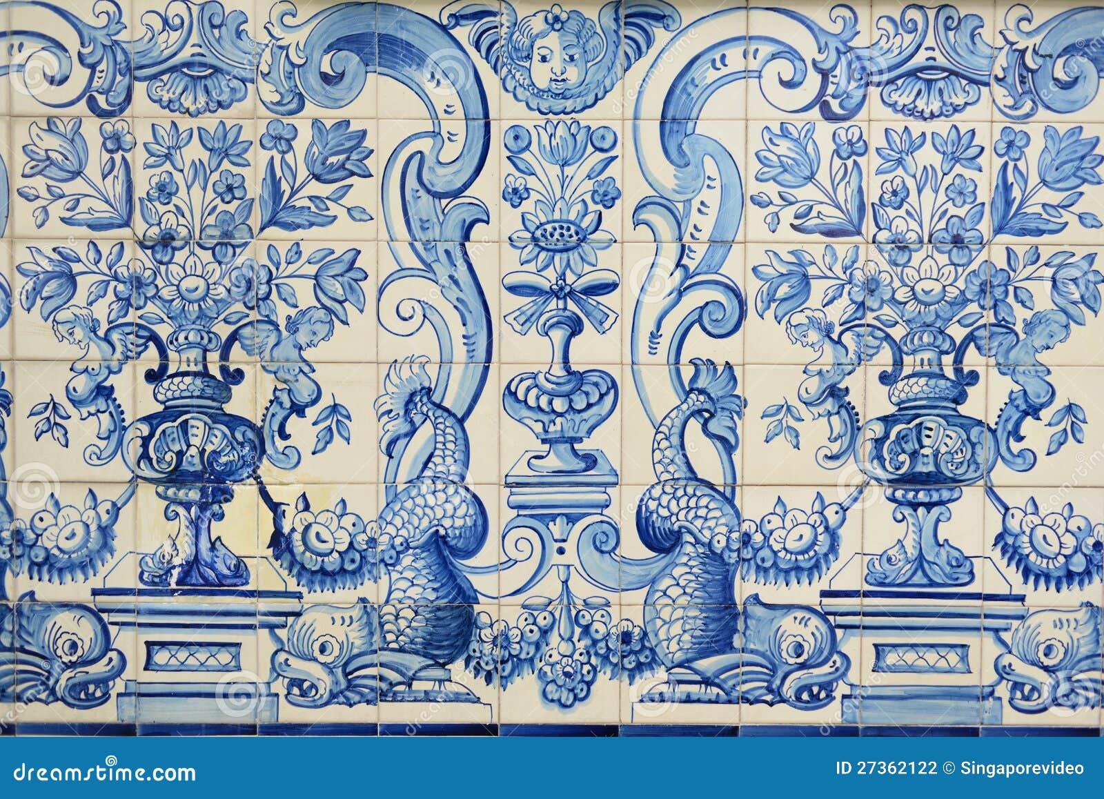 azulejos azules hist ricos de china oriental asia foto de