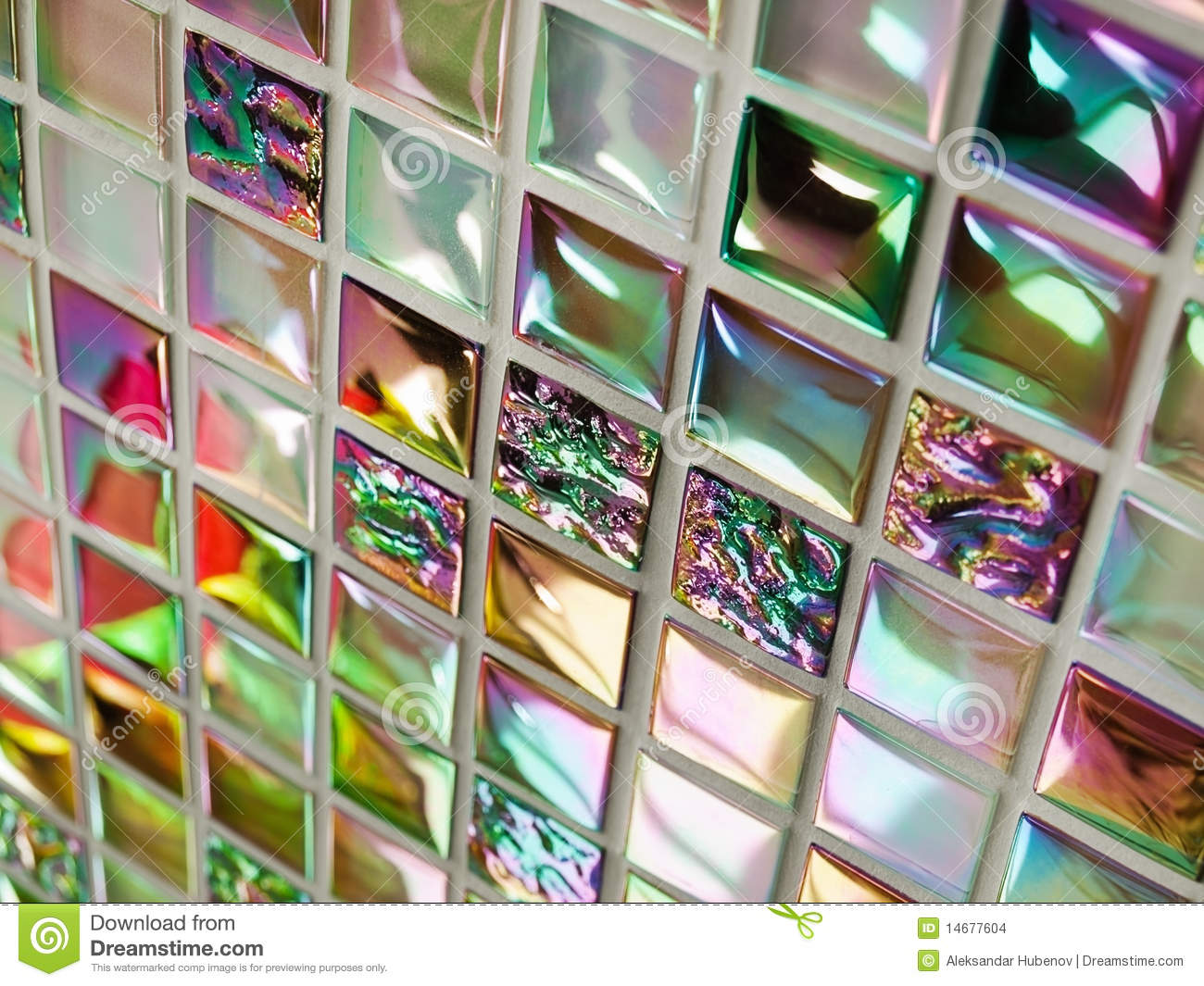 Azulejos Para Baño De Cristal:Colorful Glass Mosaic Tile