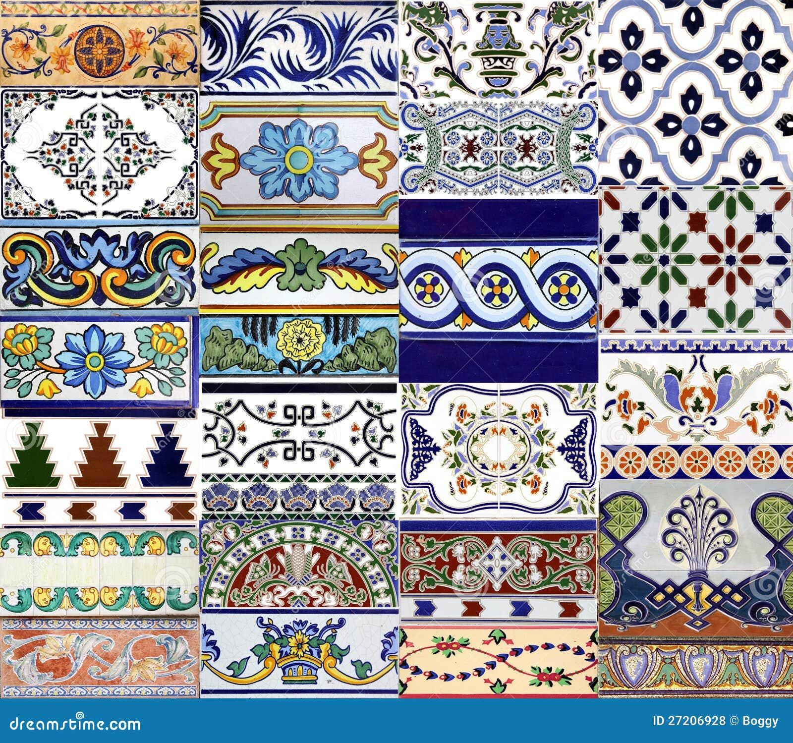 azulejos de valencia fotos de archivo libres de regal as