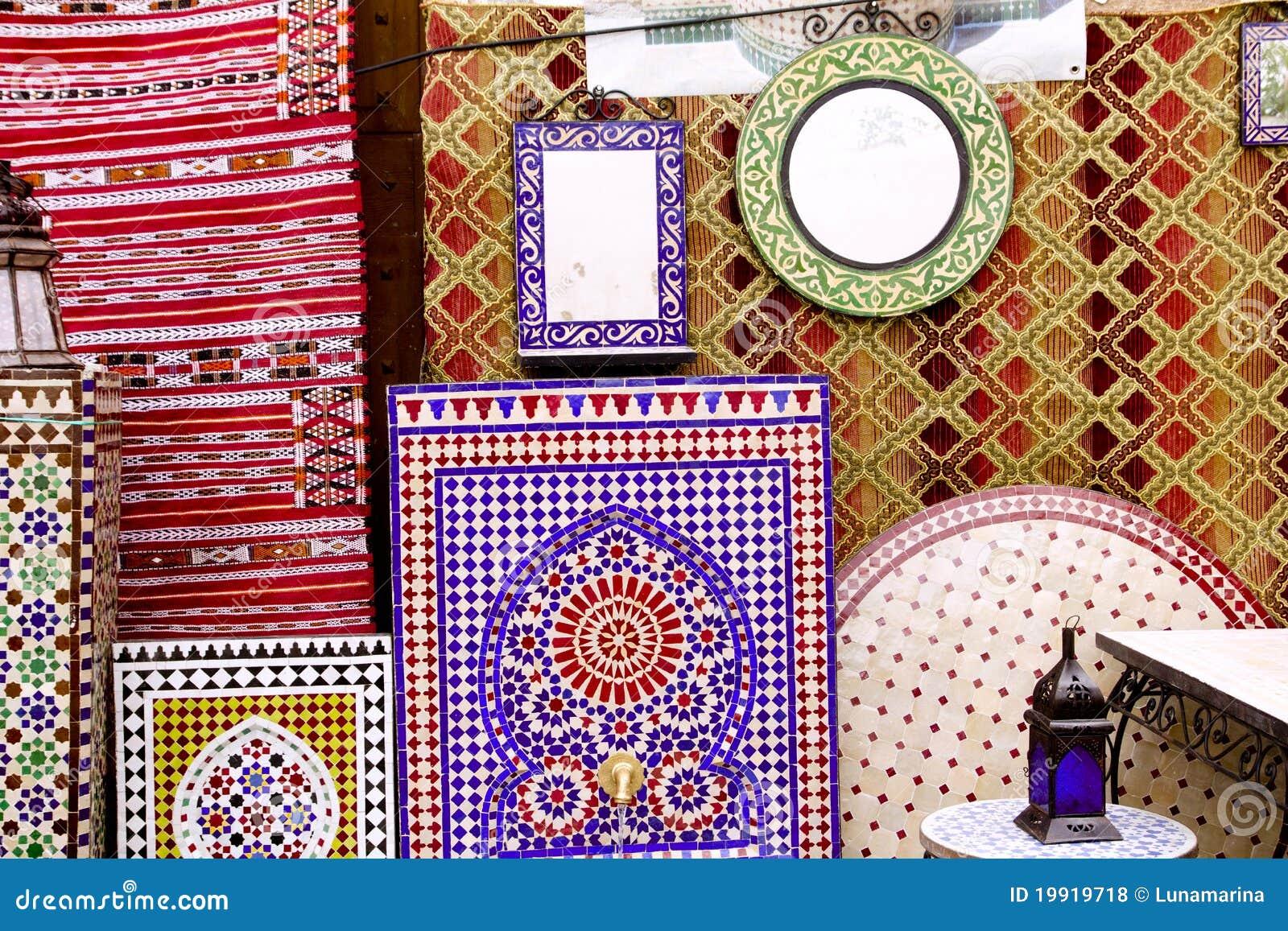 Azulejos del deco del mosaico y decoraci n rabes de la for Decoracion de azulejos