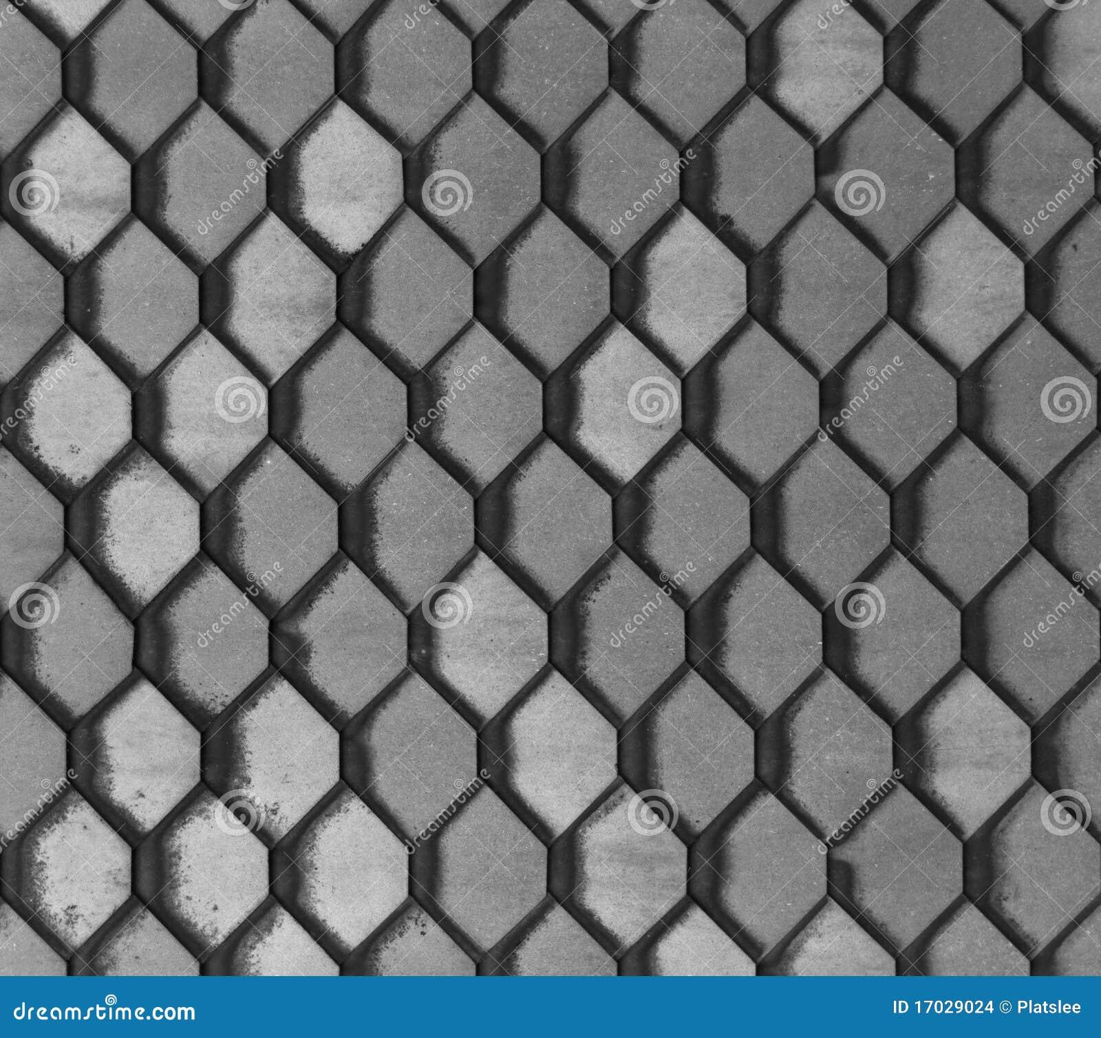 Azulejos grises hexagonales imagenes de archivo imagen - Azulejos hexagonales ...