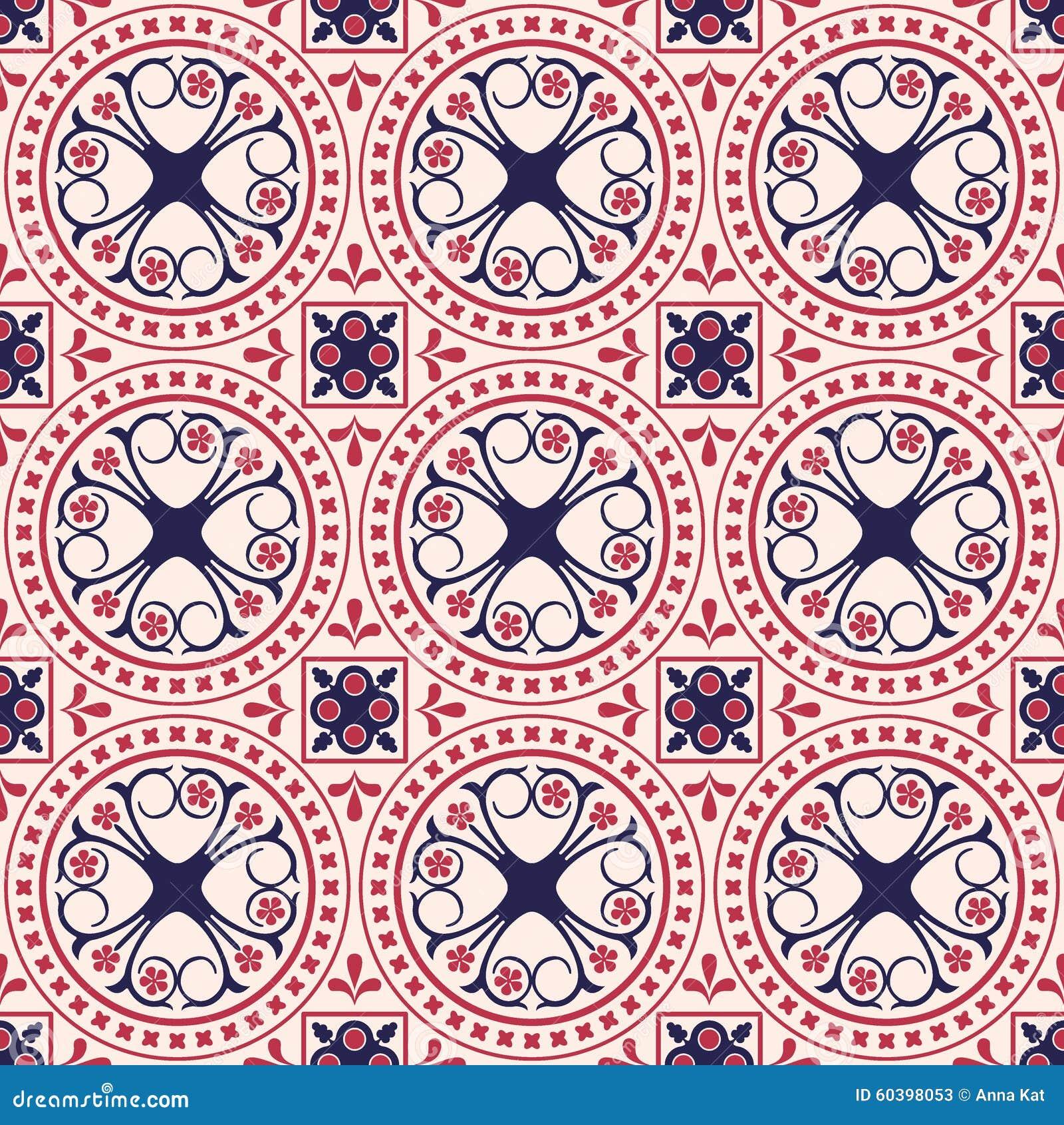 azulejos marroqu es ilustraci n del vector imagen 60398053