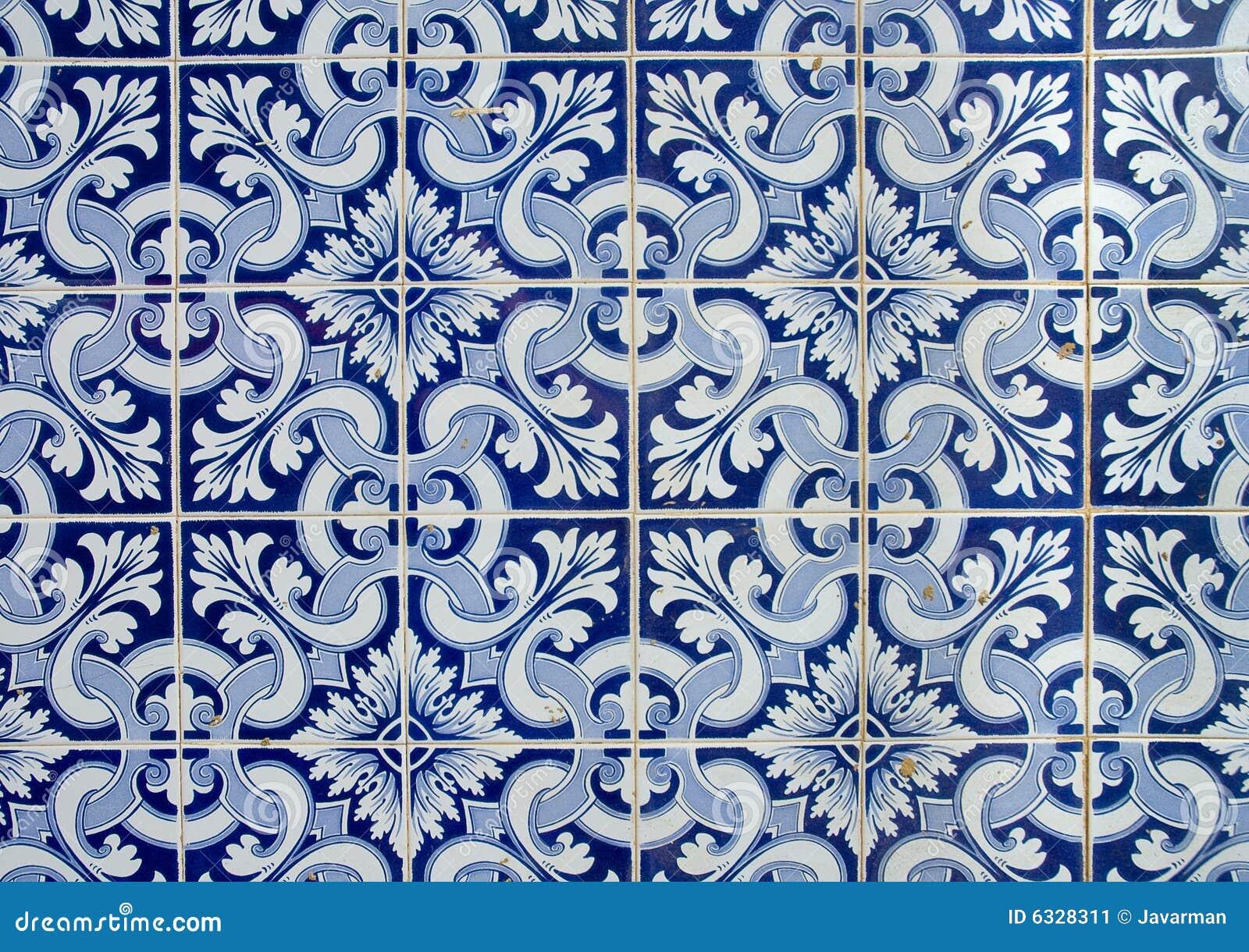 Azulejos portugueses imagen de archivo imagen 6328311 for Azulejos de portugal