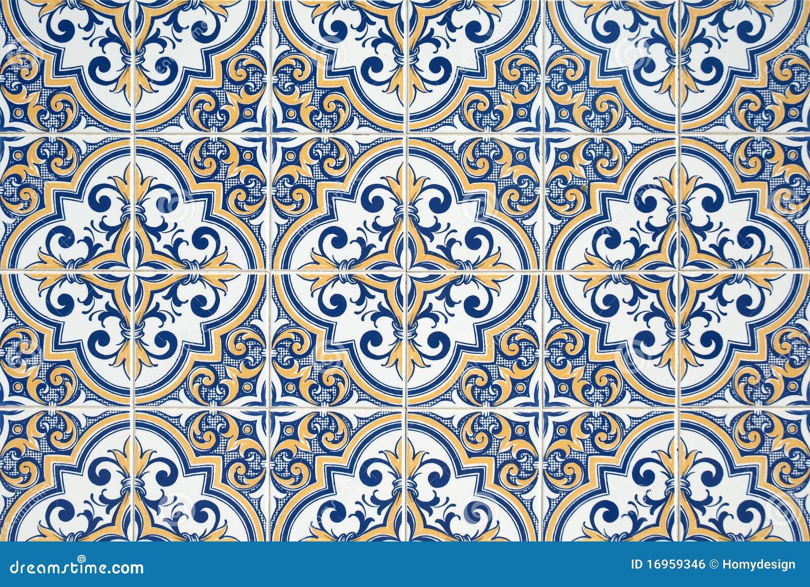 azulejos portugueses tradicionais foto de stock imagem. Black Bedroom Furniture Sets. Home Design Ideas