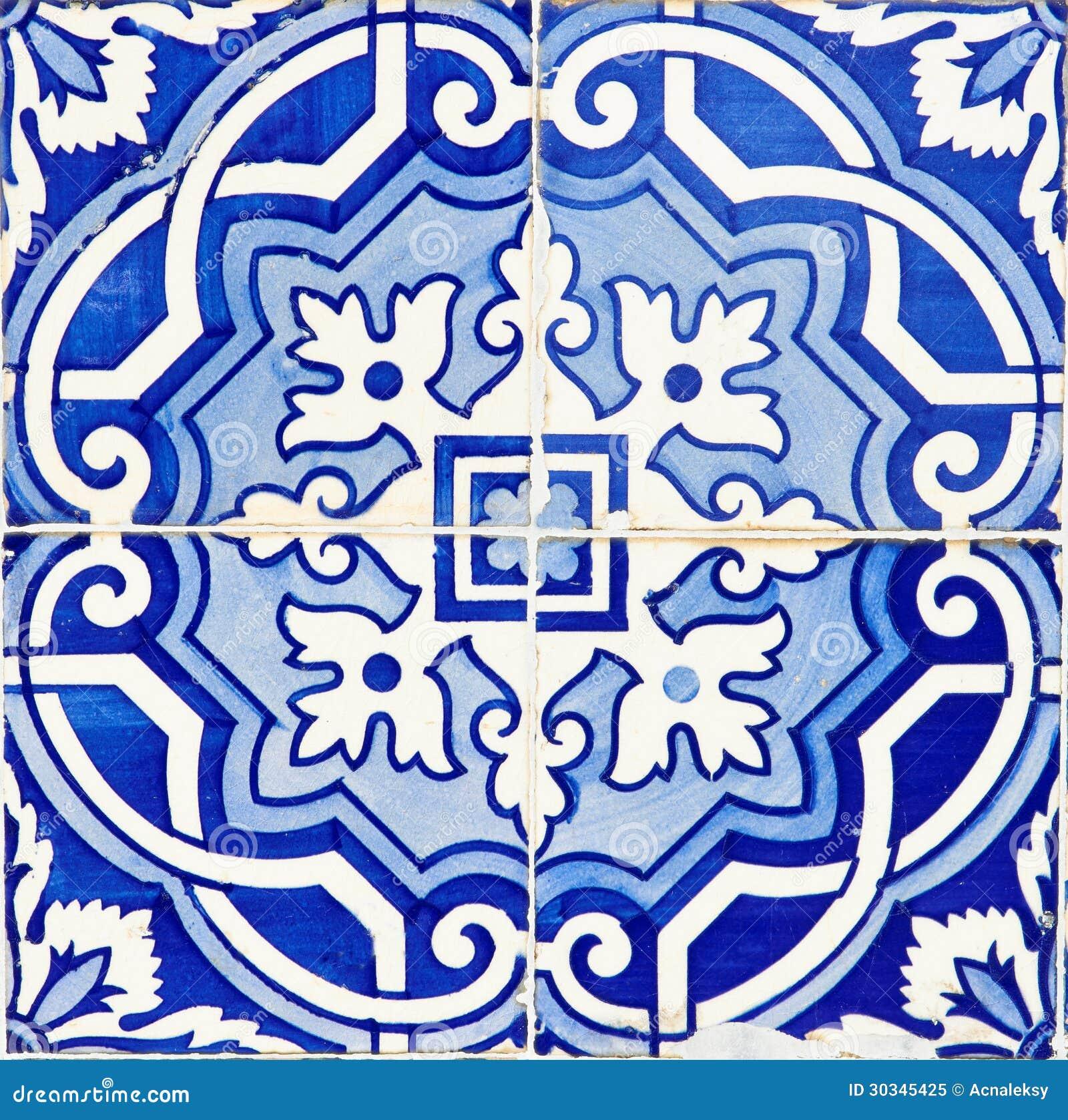 Azulejos portugueses tradicionais velhos foto de stock - Fotos en azulejos ...