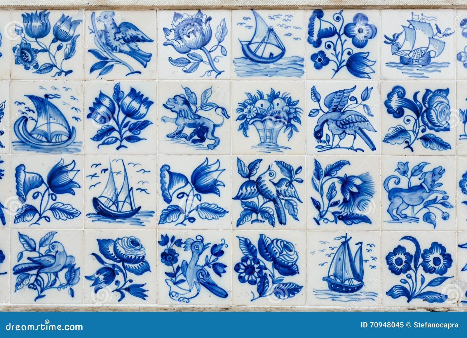 Azulejos - tuiles du Portugal