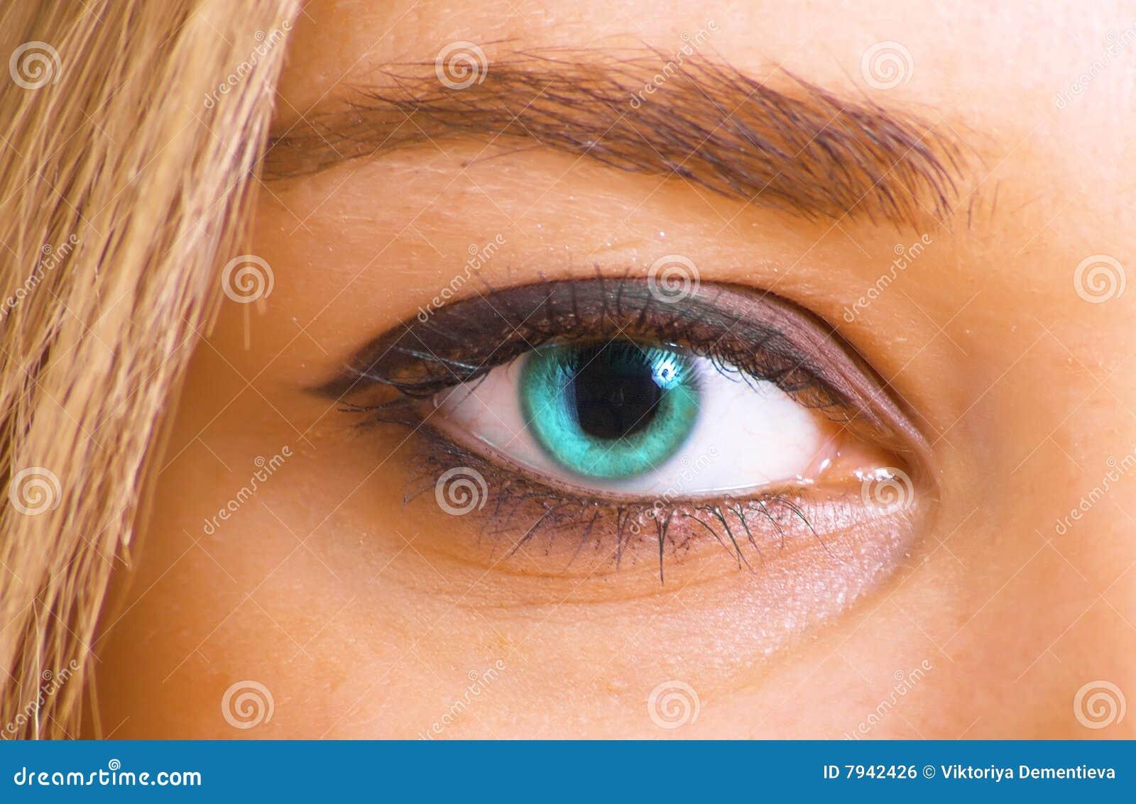 Azure Eye Royalty Free Stock Image - Image: 7942426