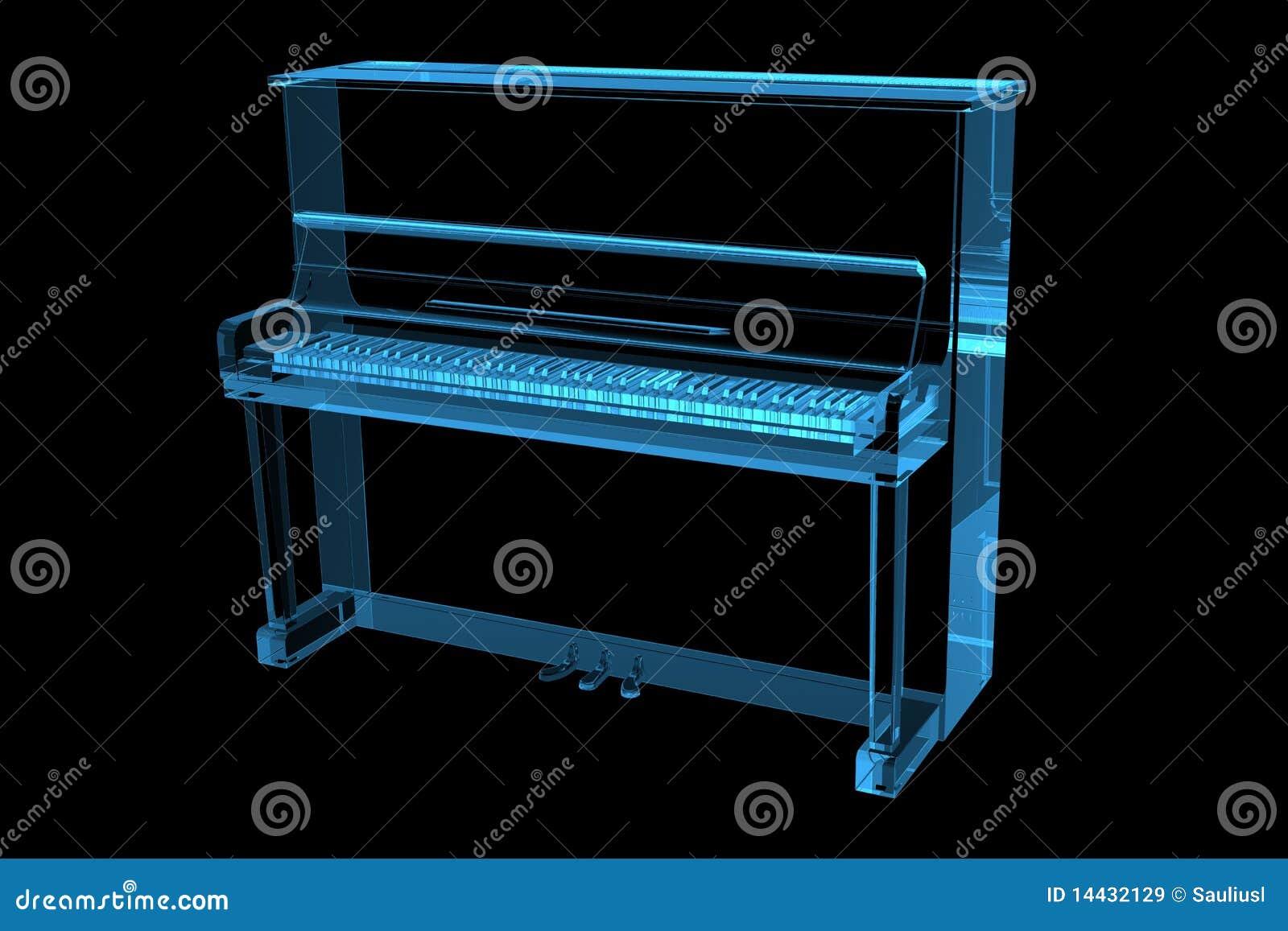 Azzurro dei raggi x del piano 3d immagini stock libere da for Stima dei costi del piano