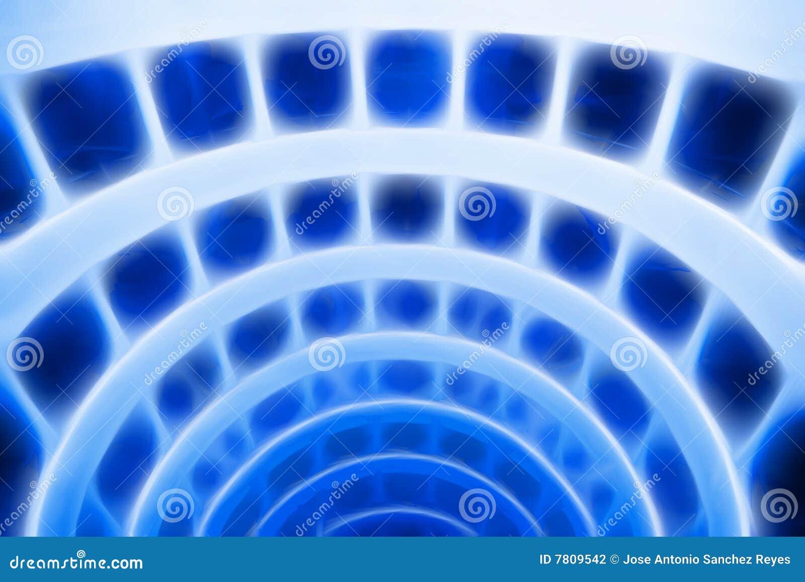Azzurro di astrazione