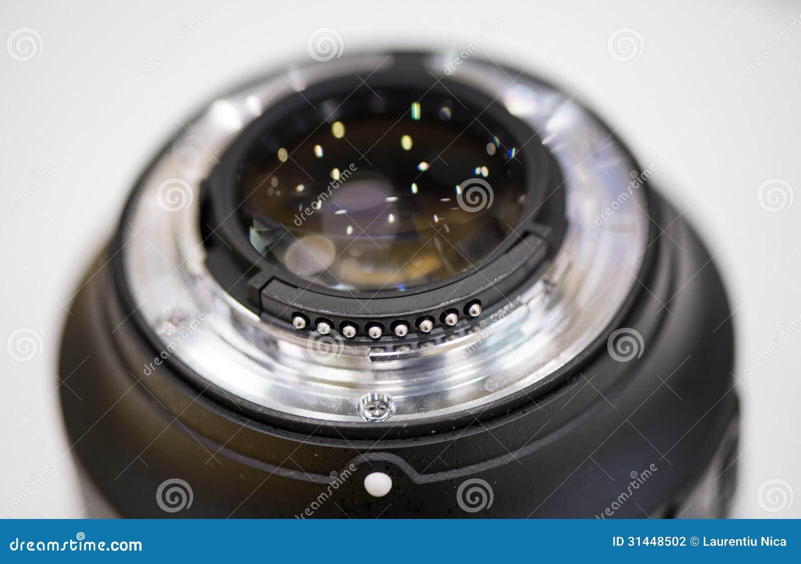 Bâti de lentille de plan rapproché