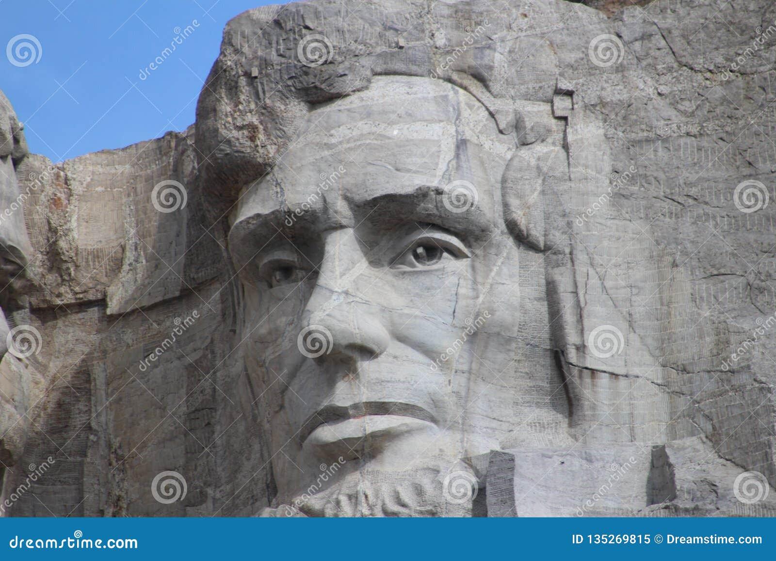Bâti Rushmore- Abraham Lincoln