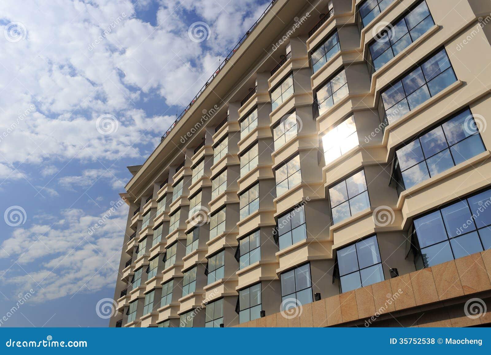 Bâtiment à plusiers étages dans la ville amoy