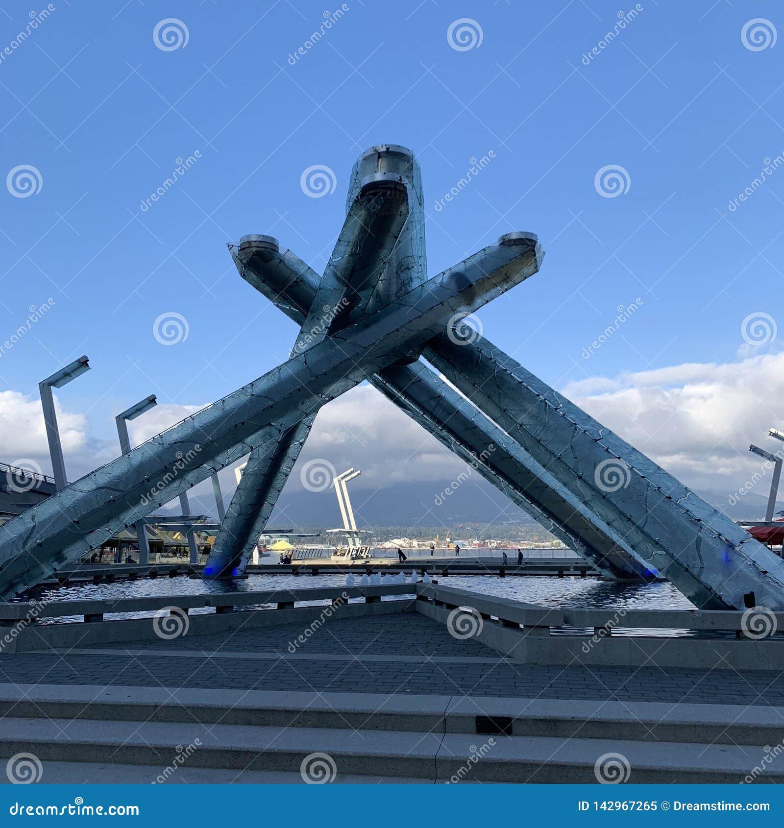 Bâtiment étrange, Vancouver, Canada