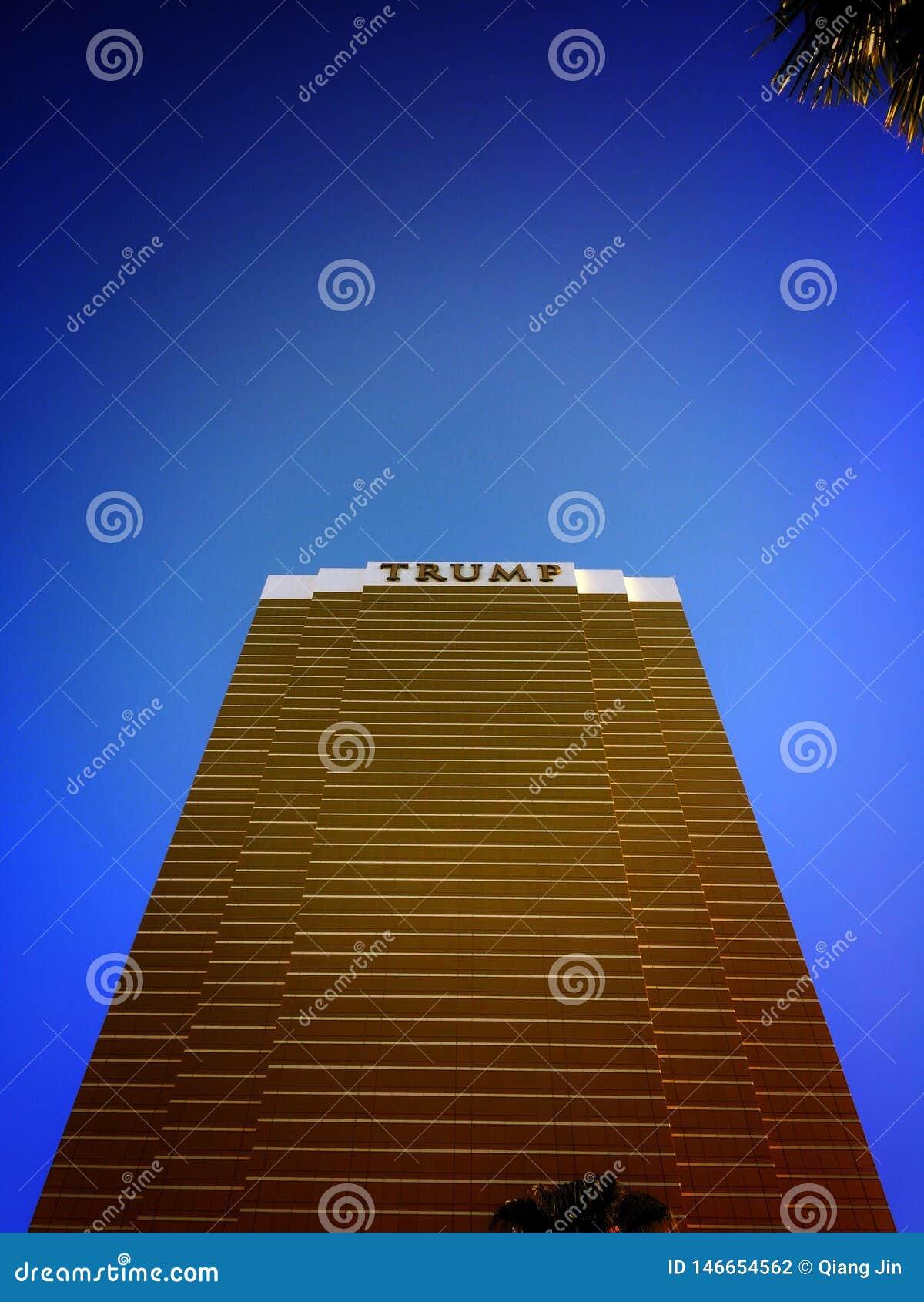 Bâtiment d atout à Las Vegas