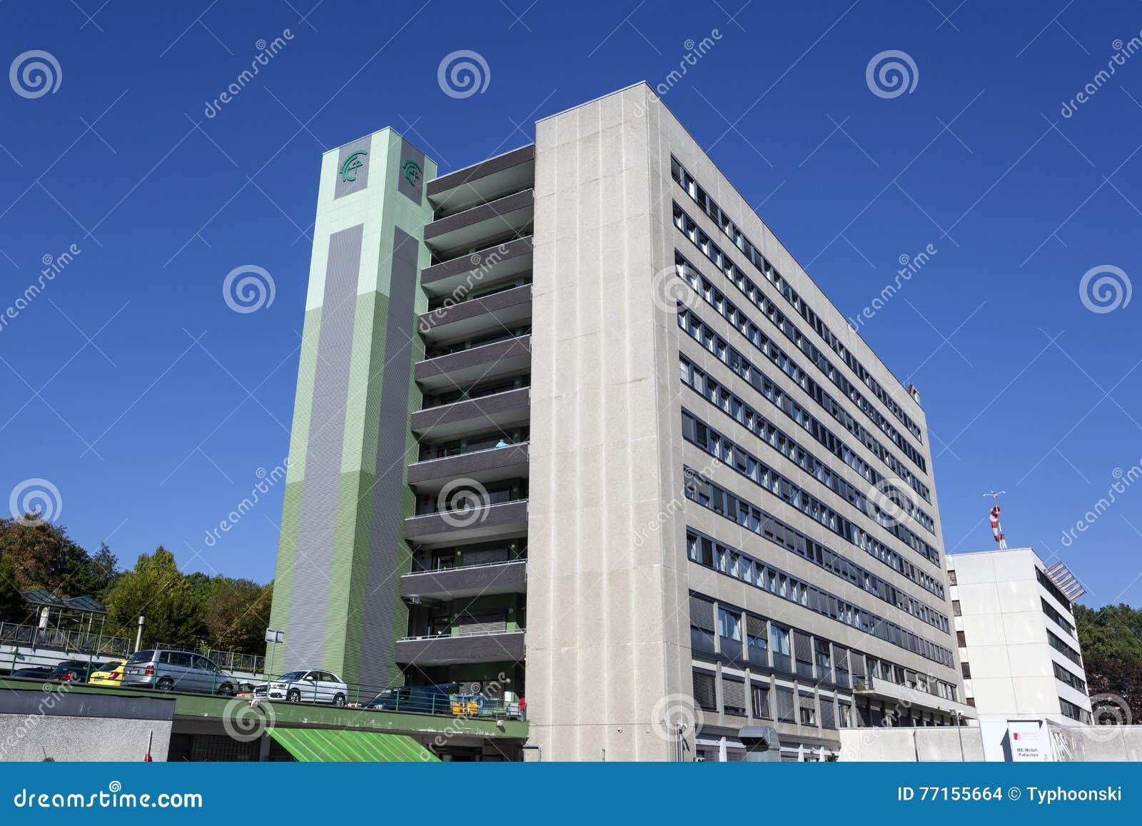 Bâtiment d hôpital dans Siegen, Allemagne