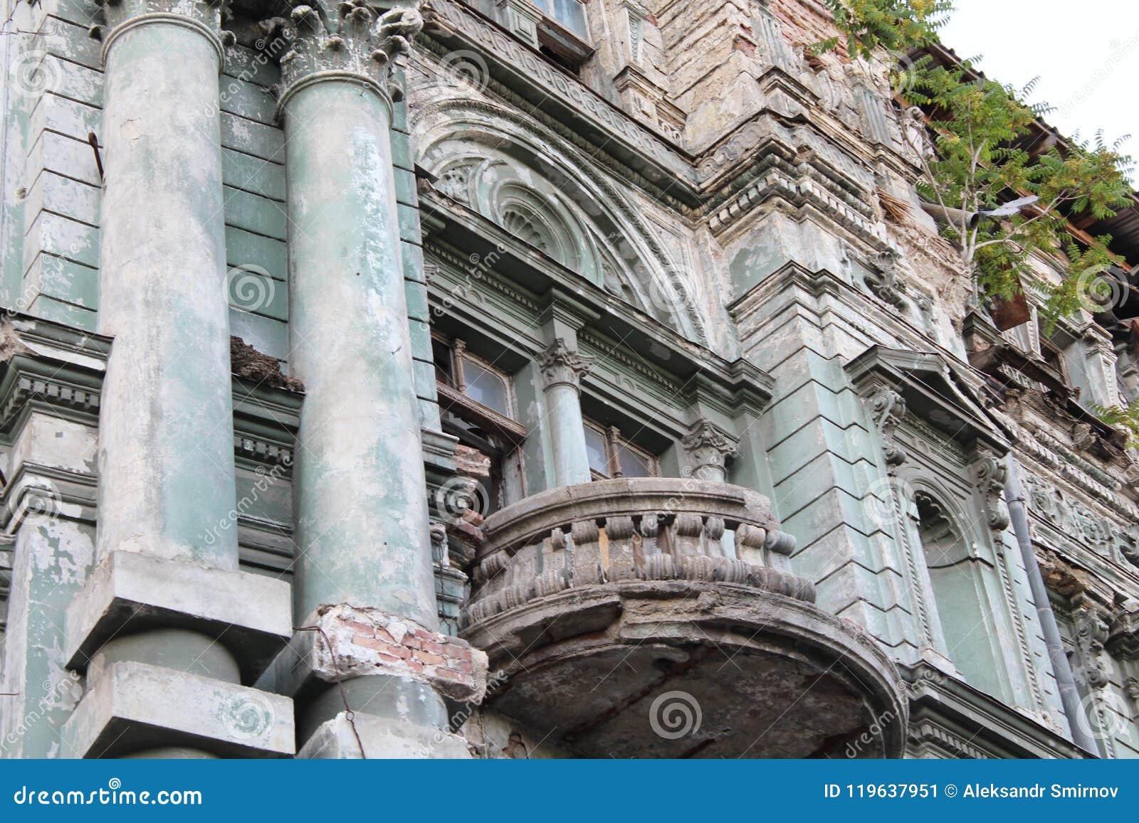 Bâtiment dans la ville d Odessa avec la belle architecture
