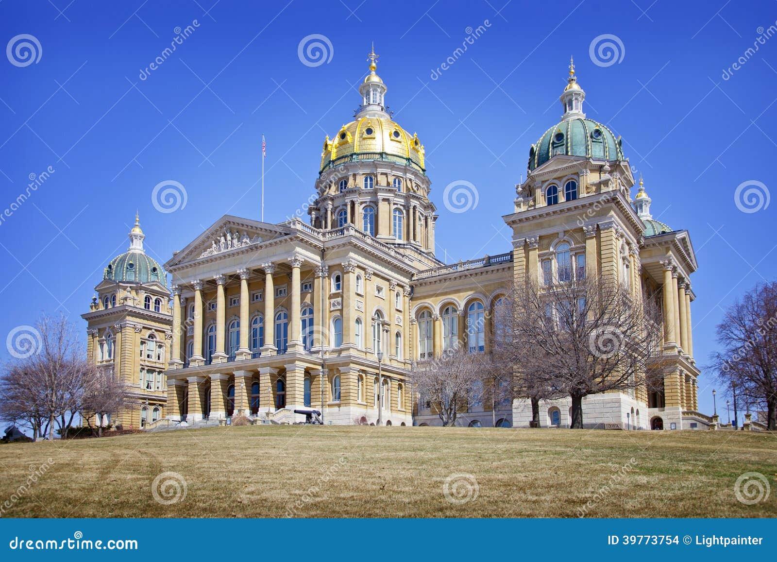 Bâtiment de capitol d état de l Iowa